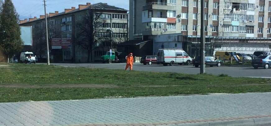 Фото дня. У Дрогобичі дизенфікують вулиці, фото-2