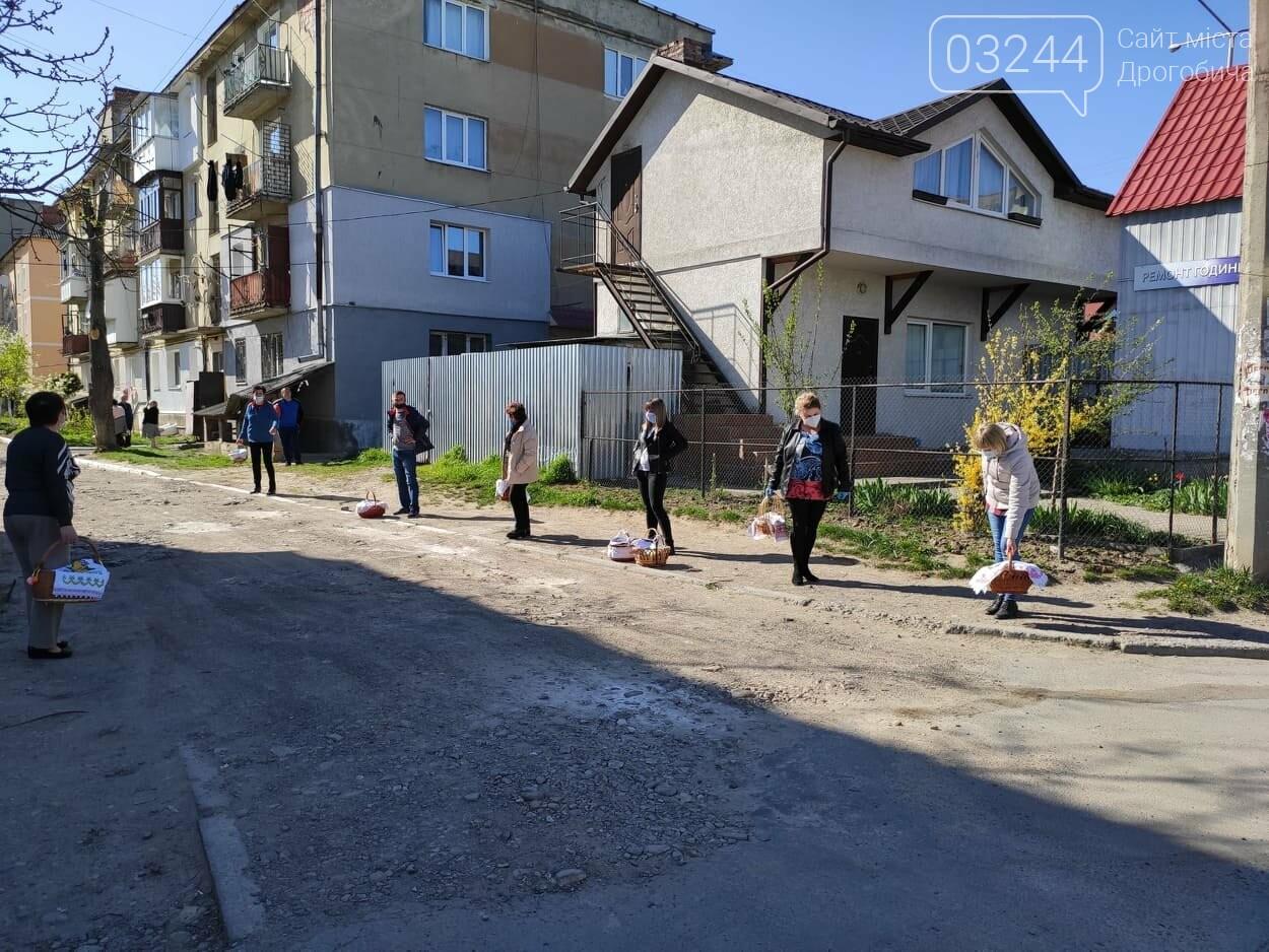 Як у Дрогобичі на вулицях великодні кошики освячували, - ФОТОРЕПОРТАЖ, фото-24