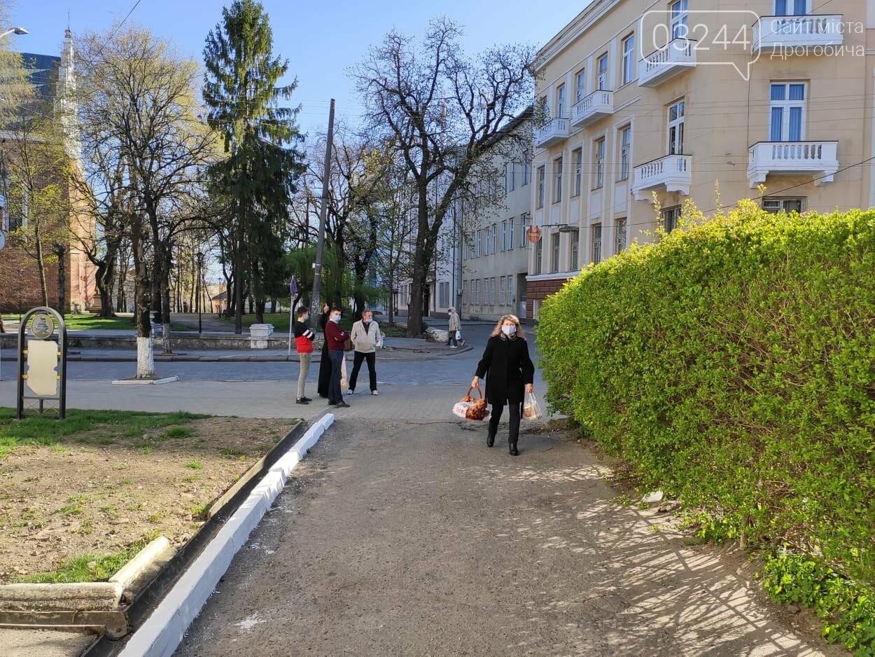 Як у Дрогобичі на вулицях великодні кошики освячували, - ФОТОРЕПОРТАЖ, фото-22