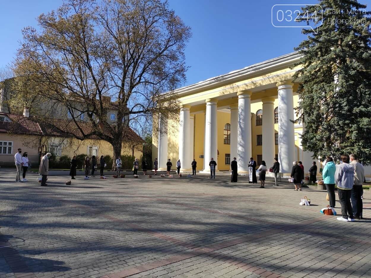 Як у Дрогобичі на вулицях великодні кошики освячували, - ФОТОРЕПОРТАЖ, фото-15