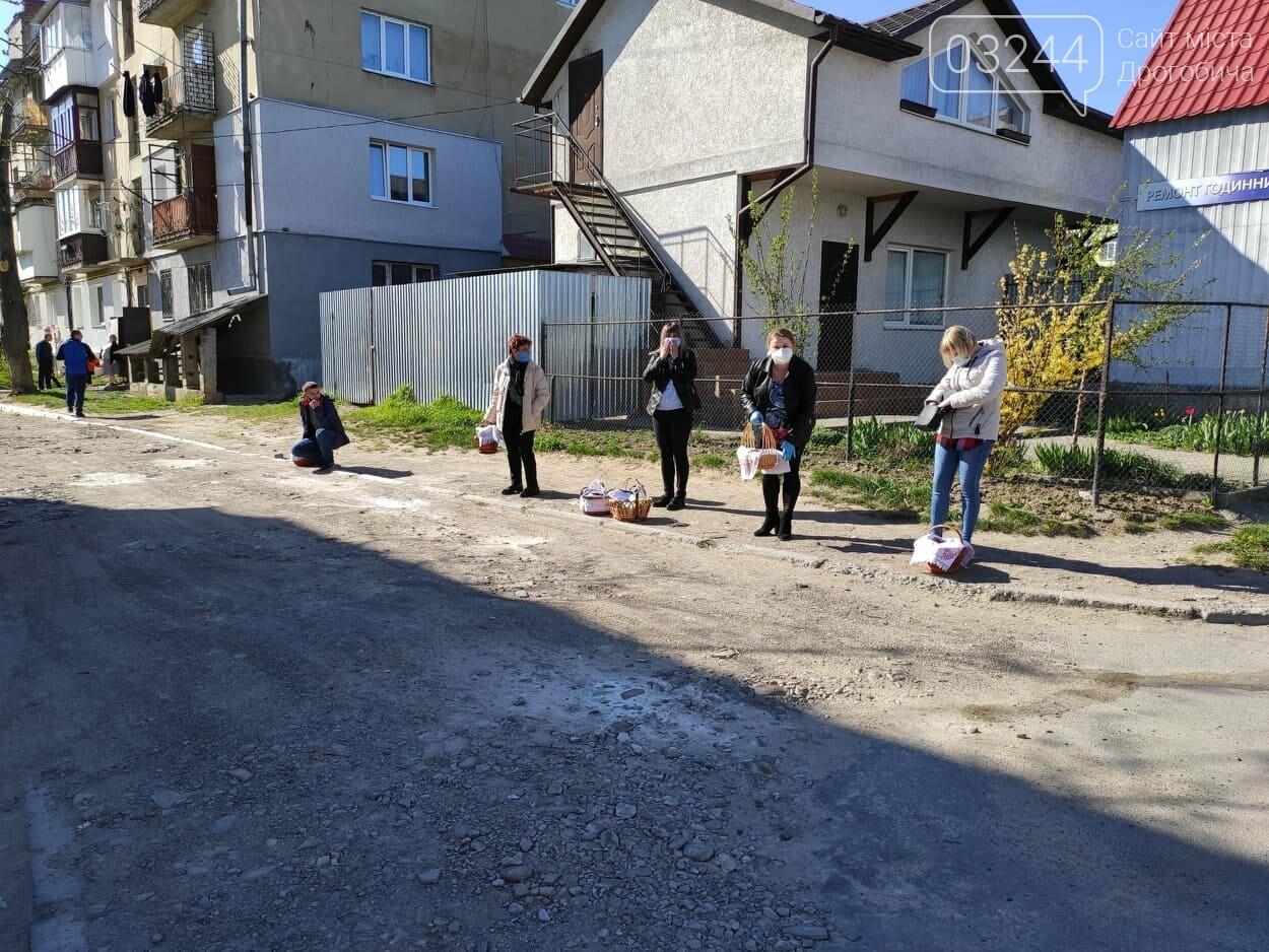 Як у Дрогобичі на вулицях великодні кошики освячували, - ФОТОРЕПОРТАЖ, фото-25