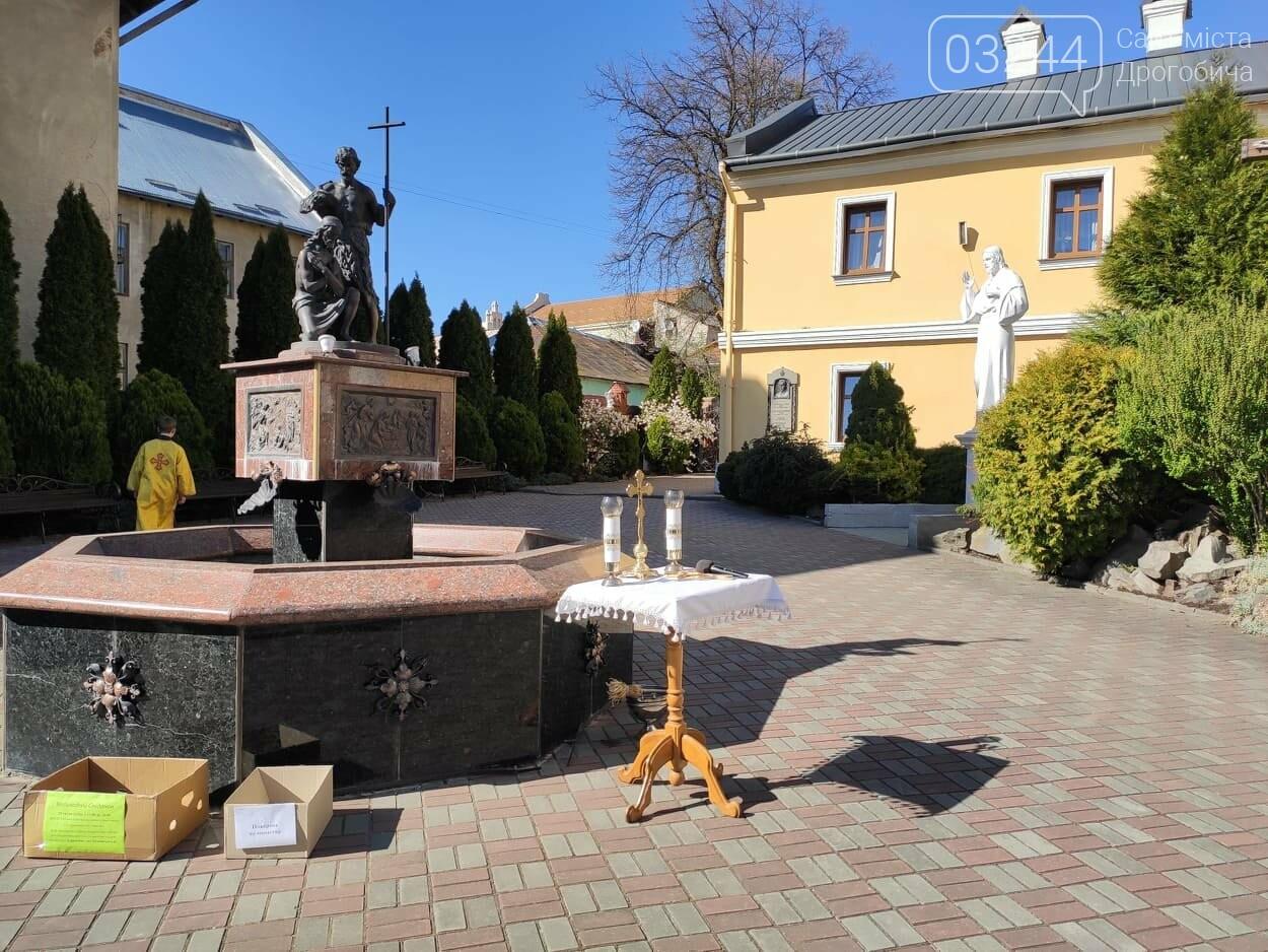 Як у Дрогобичі на вулицях великодні кошики освячували, - ФОТОРЕПОРТАЖ, фото-11