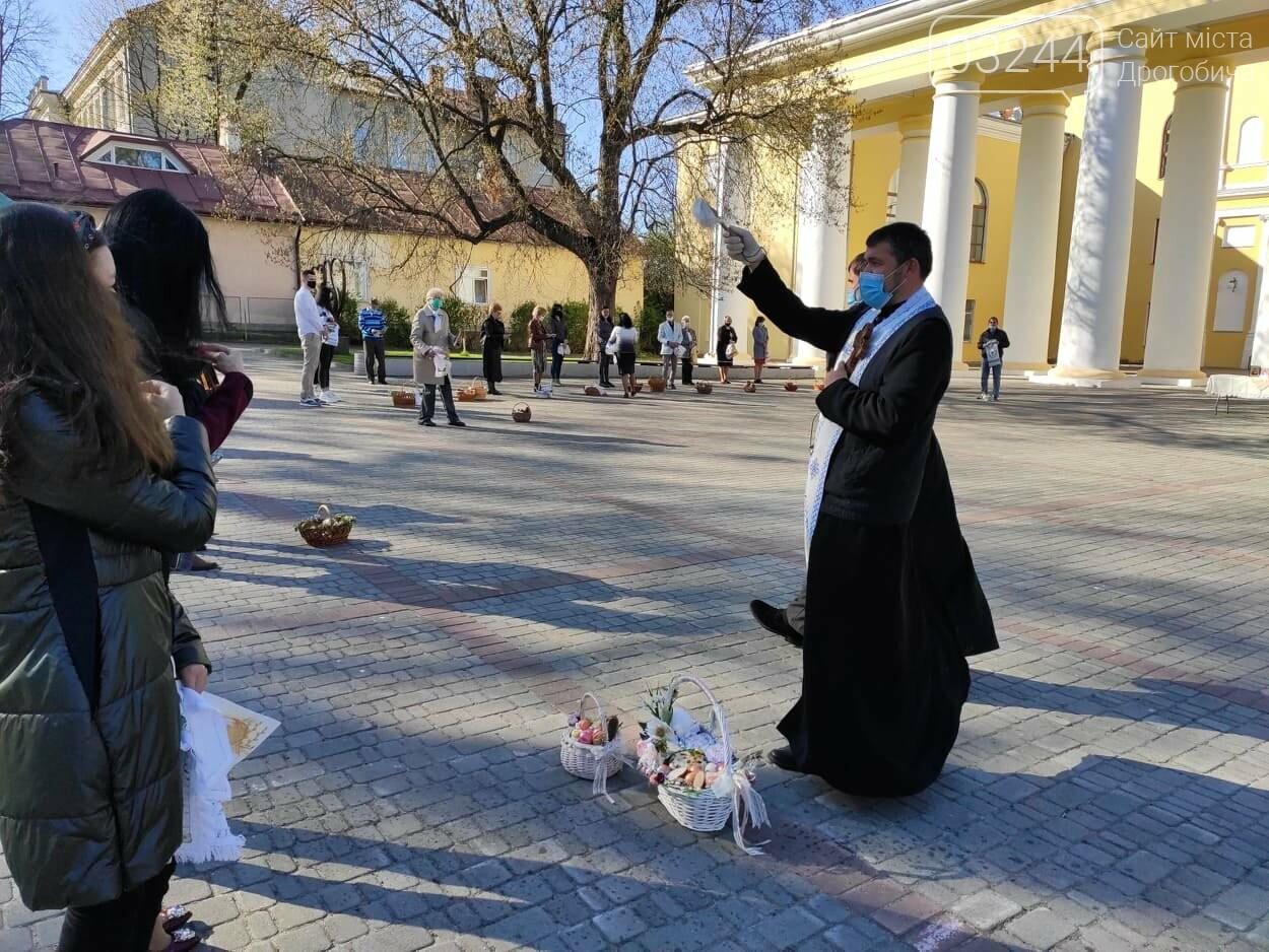 Як у Дрогобичі на вулицях великодні кошики освячували, - ФОТОРЕПОРТАЖ, фото-17