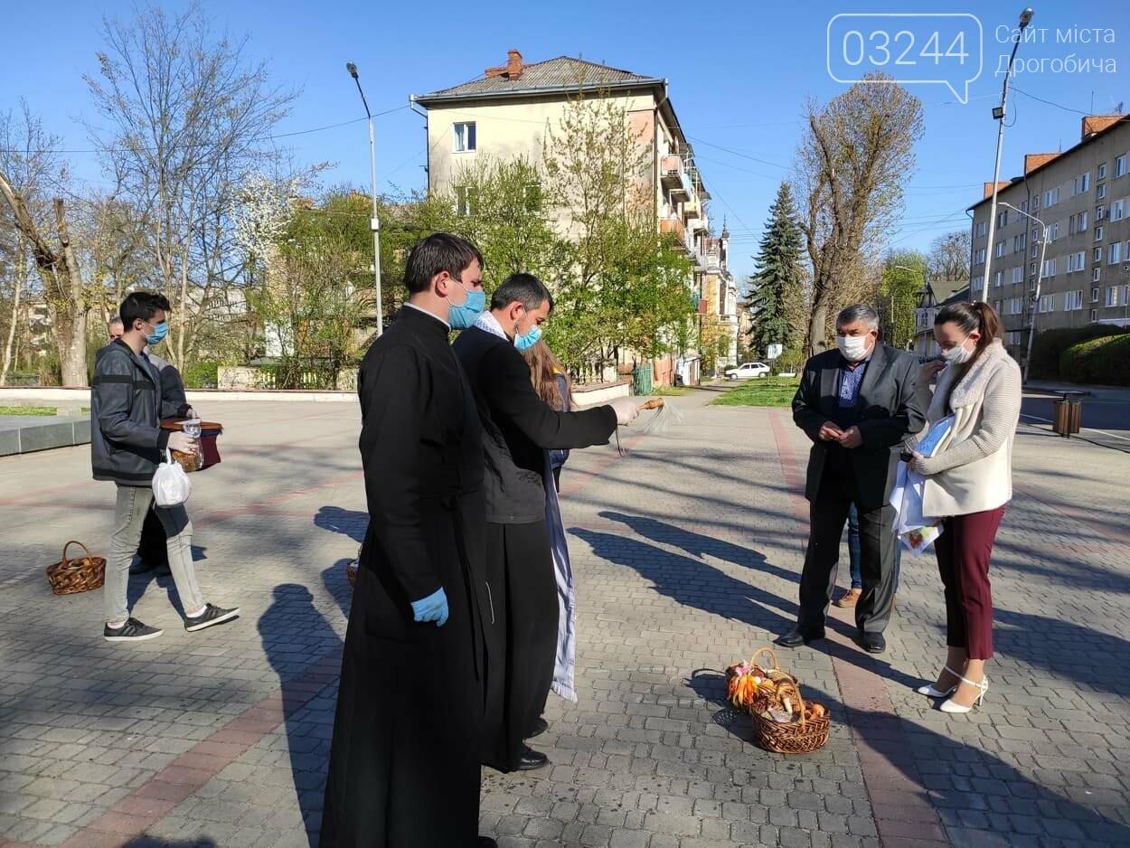 Як у Дрогобичі на вулицях великодні кошики освячували, - ФОТОРЕПОРТАЖ, фото-18