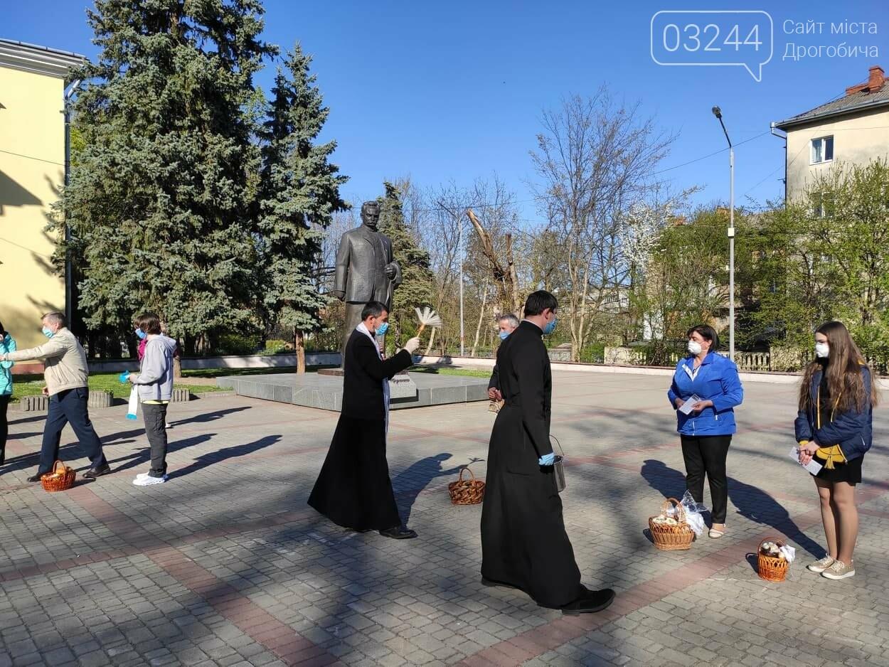 Як у Дрогобичі на вулицях великодні кошики освячували, - ФОТОРЕПОРТАЖ, фото-19