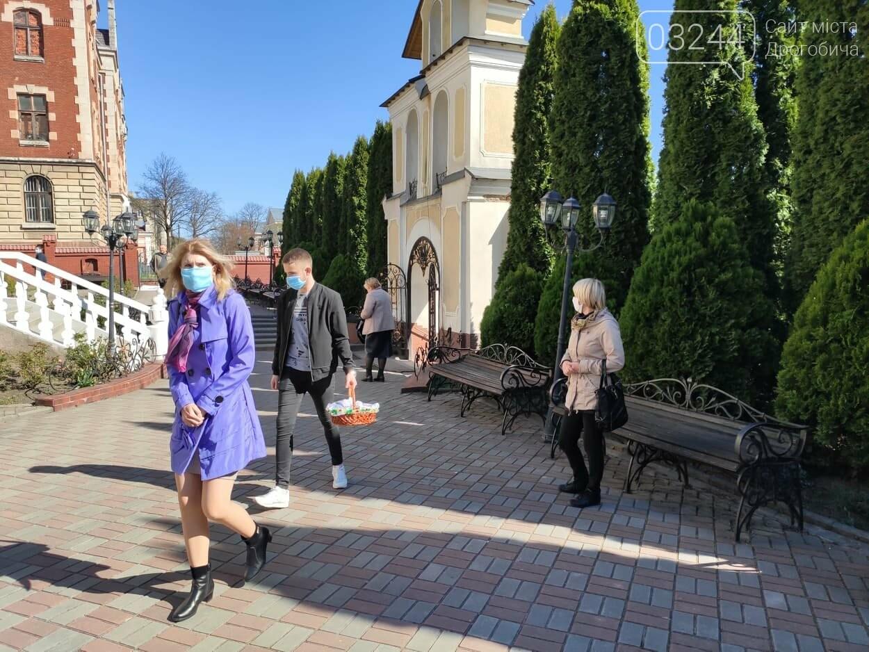 Як у Дрогобичі на вулицях великодні кошики освячували, - ФОТОРЕПОРТАЖ, фото-13