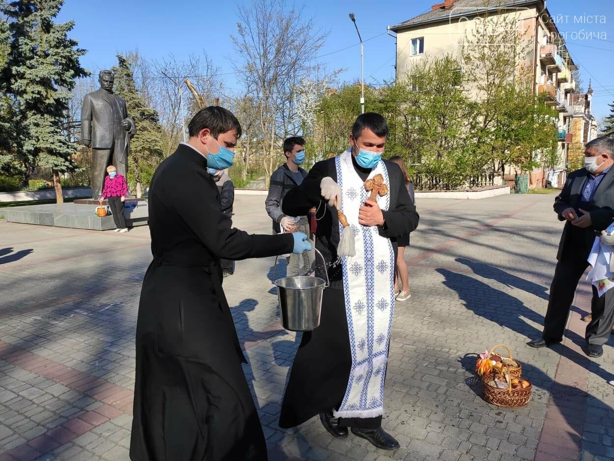 Як у Дрогобичі на вулицях великодні кошики освячували, - ФОТОРЕПОРТАЖ, фото-20