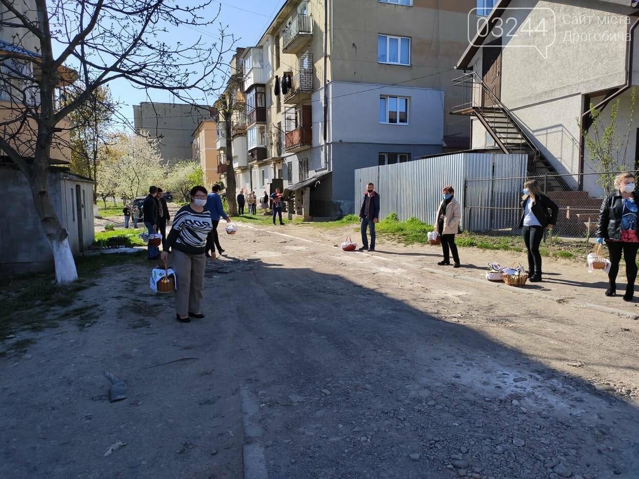 Як у Дрогобичі на вулицях великодні кошики освячували, - ФОТОРЕПОРТАЖ, фото-26
