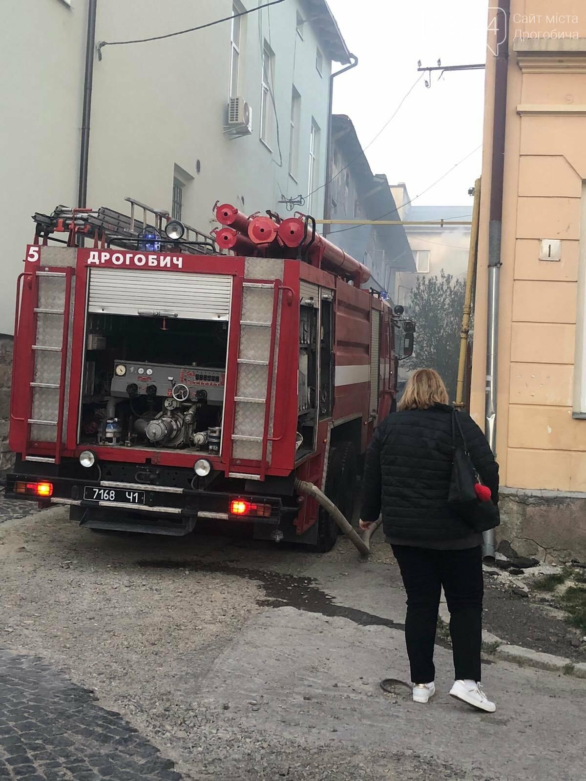 Пожежа на Площі Ринок у Дрогобичі - ДОПОВНЕНО, фото-2