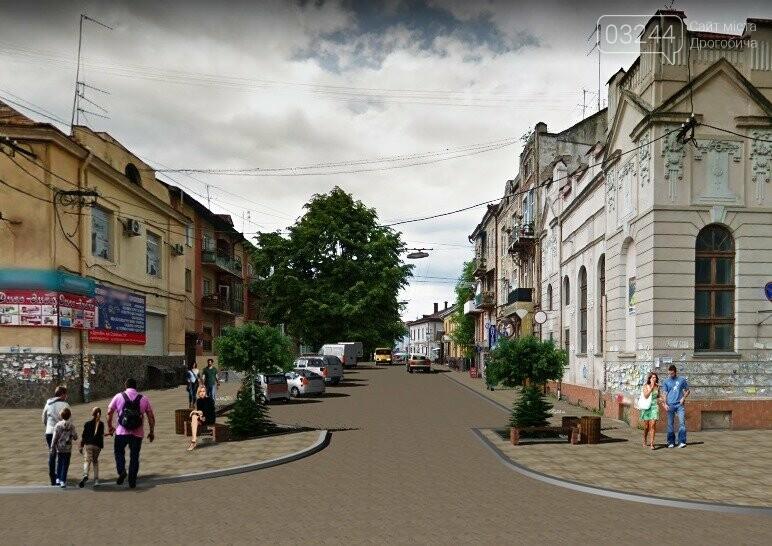 На вулиці Шолом-Алейхема у Дрогобичі комунальники демонтовують торгові ятки, фото-7