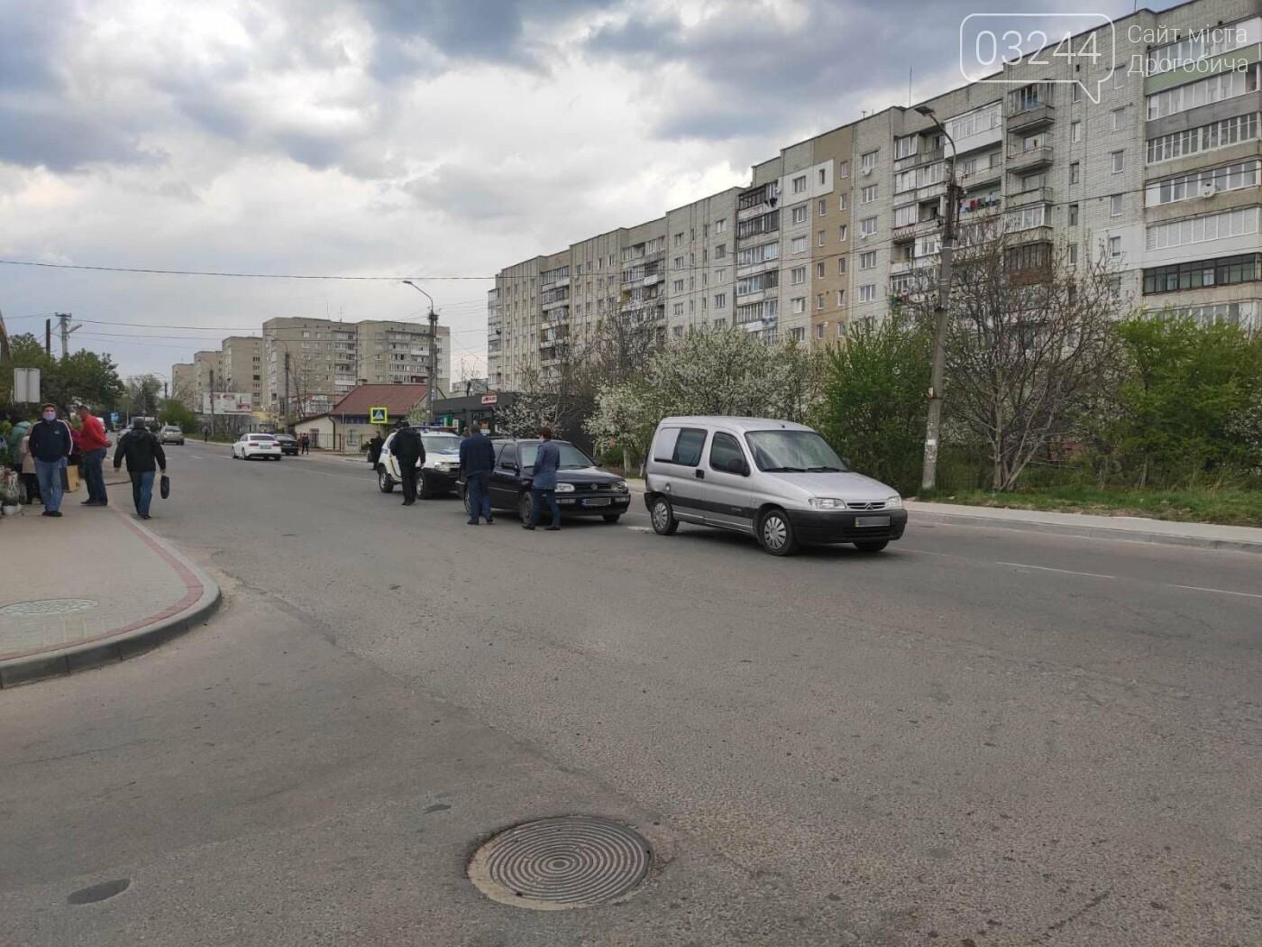 ДТП на вулиці Самбірській у Дрогобичі, - ФОТО, фото-1