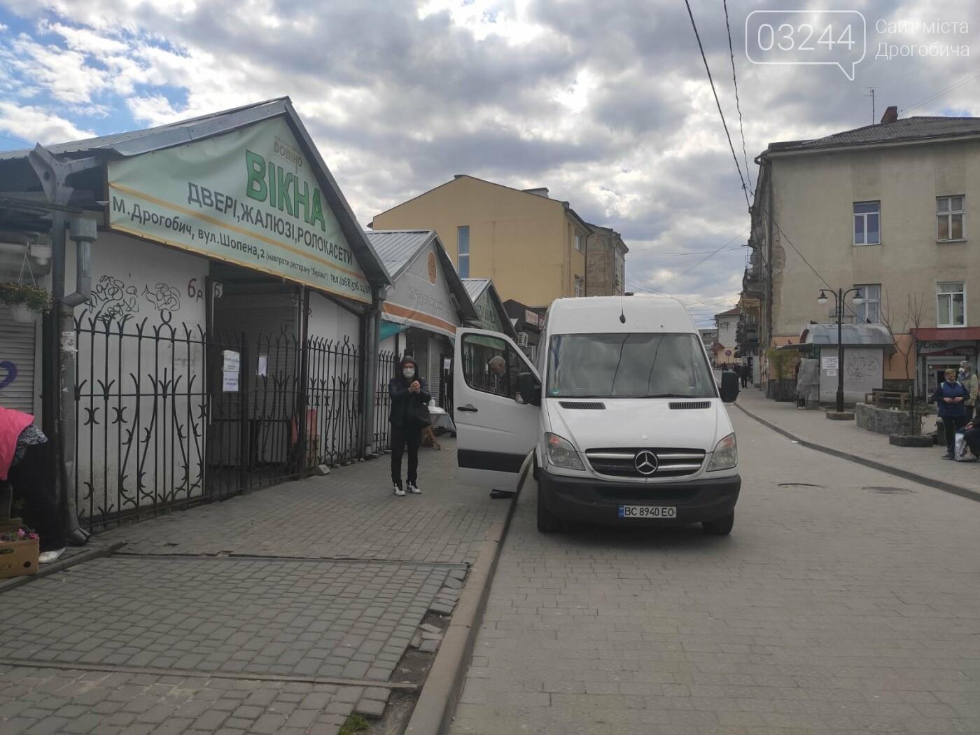 У Дрогобичі запрацював продуктовий ринок в центрі міста, -  ФОТОРЕПОРТАЖ, фото-1