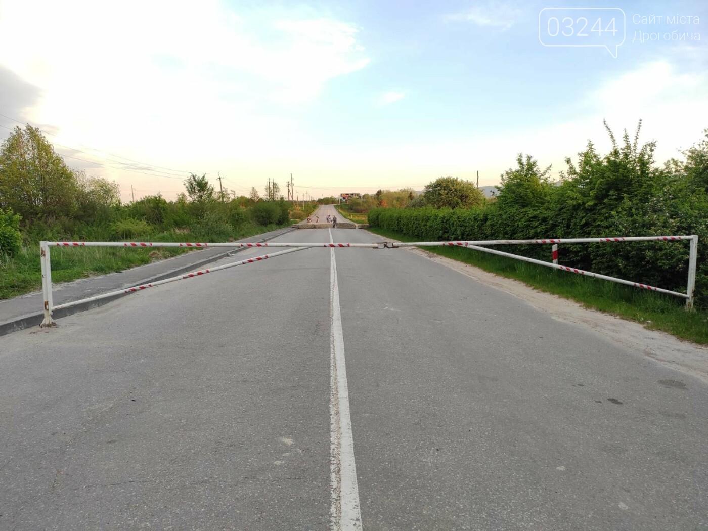 Проїзду немає! На дорозі Дрогобич - Трускавець закрили шлагбаум, - ФОТО, фото-4