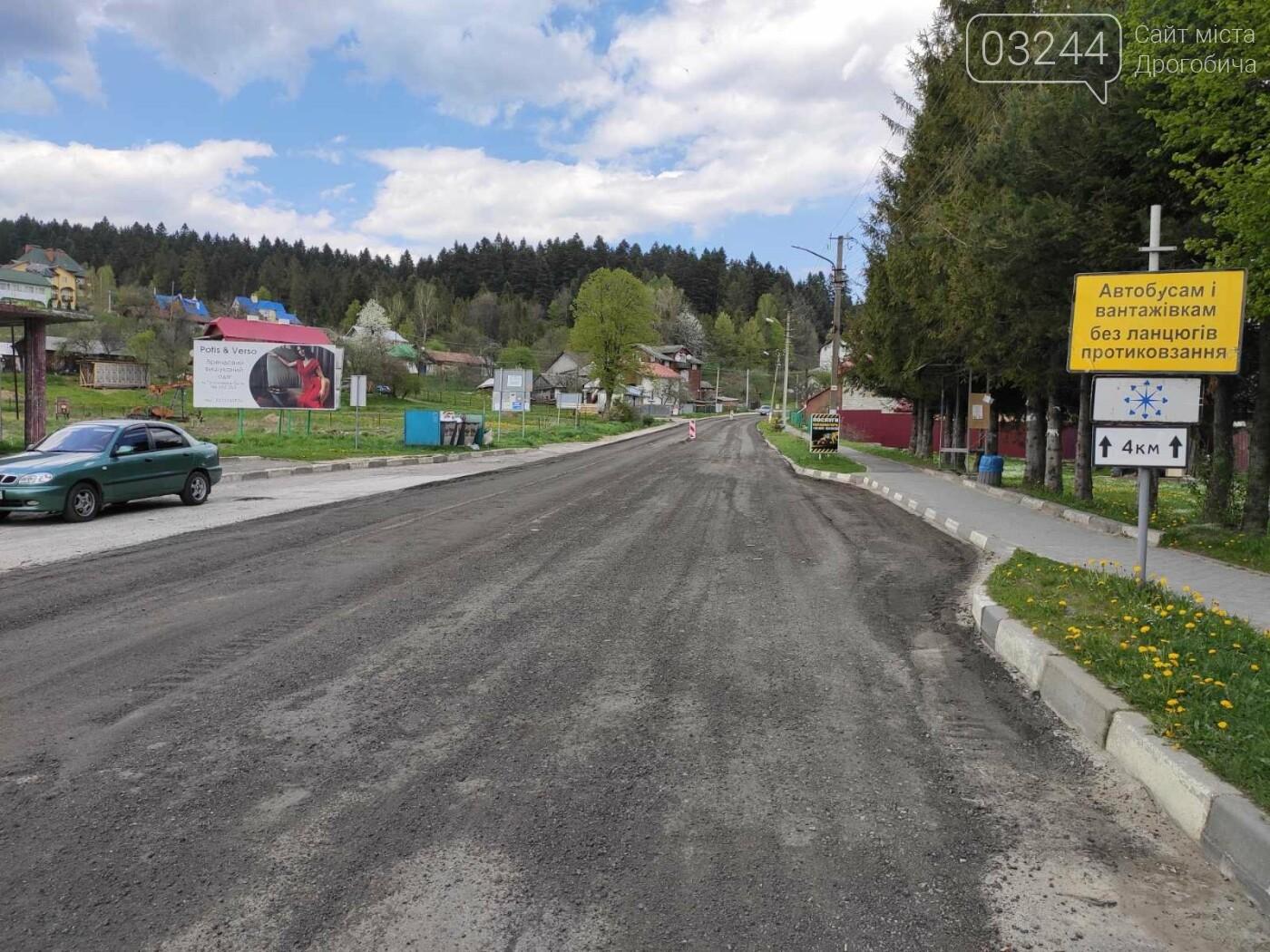 У рамках програми Велике будівництво ремонтують дорогу з Східниці у Борислав, фото-2