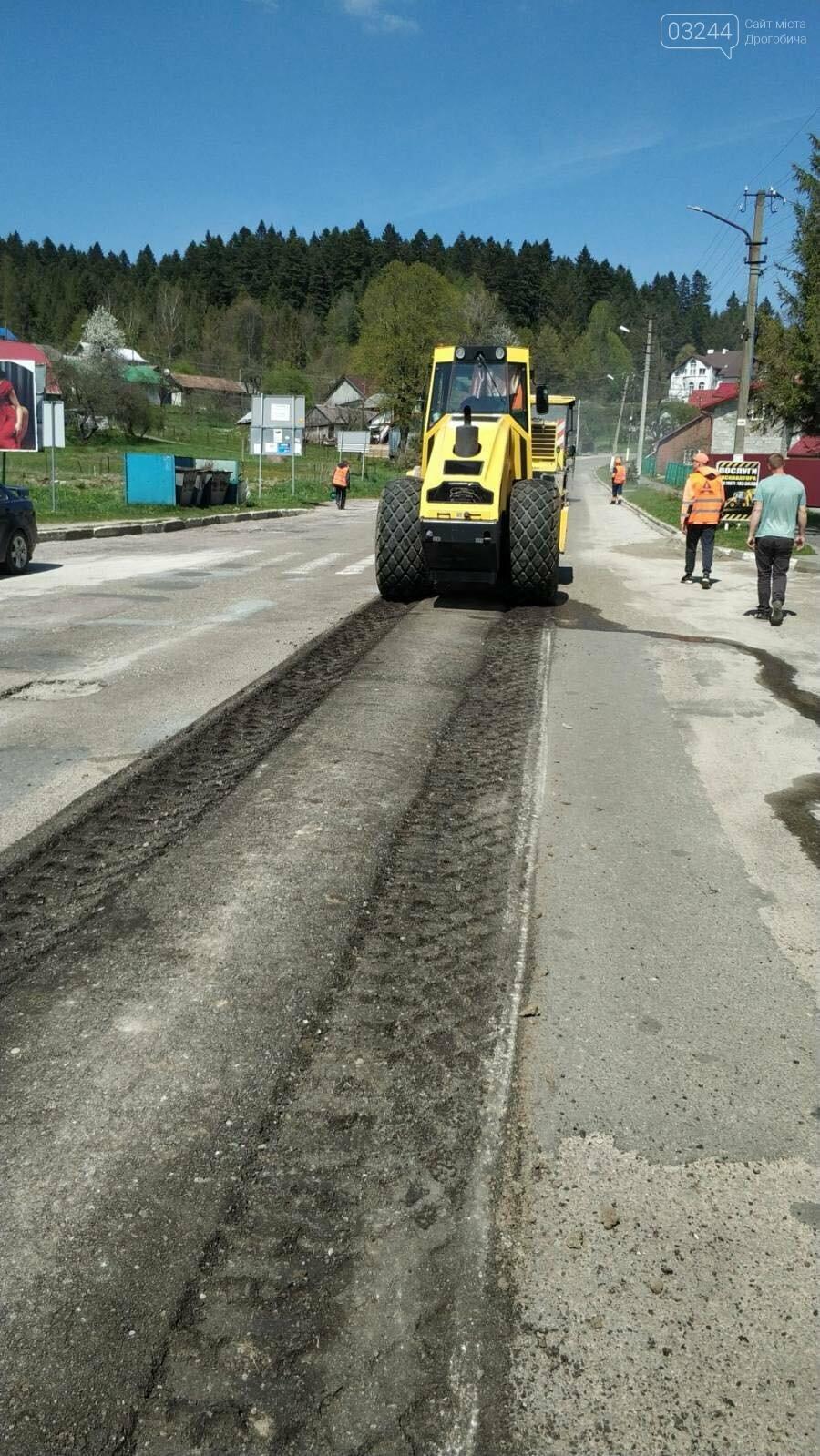 У рамках програми Велике будівництво ремонтують дорогу з Східниці у Борислав, фото-4