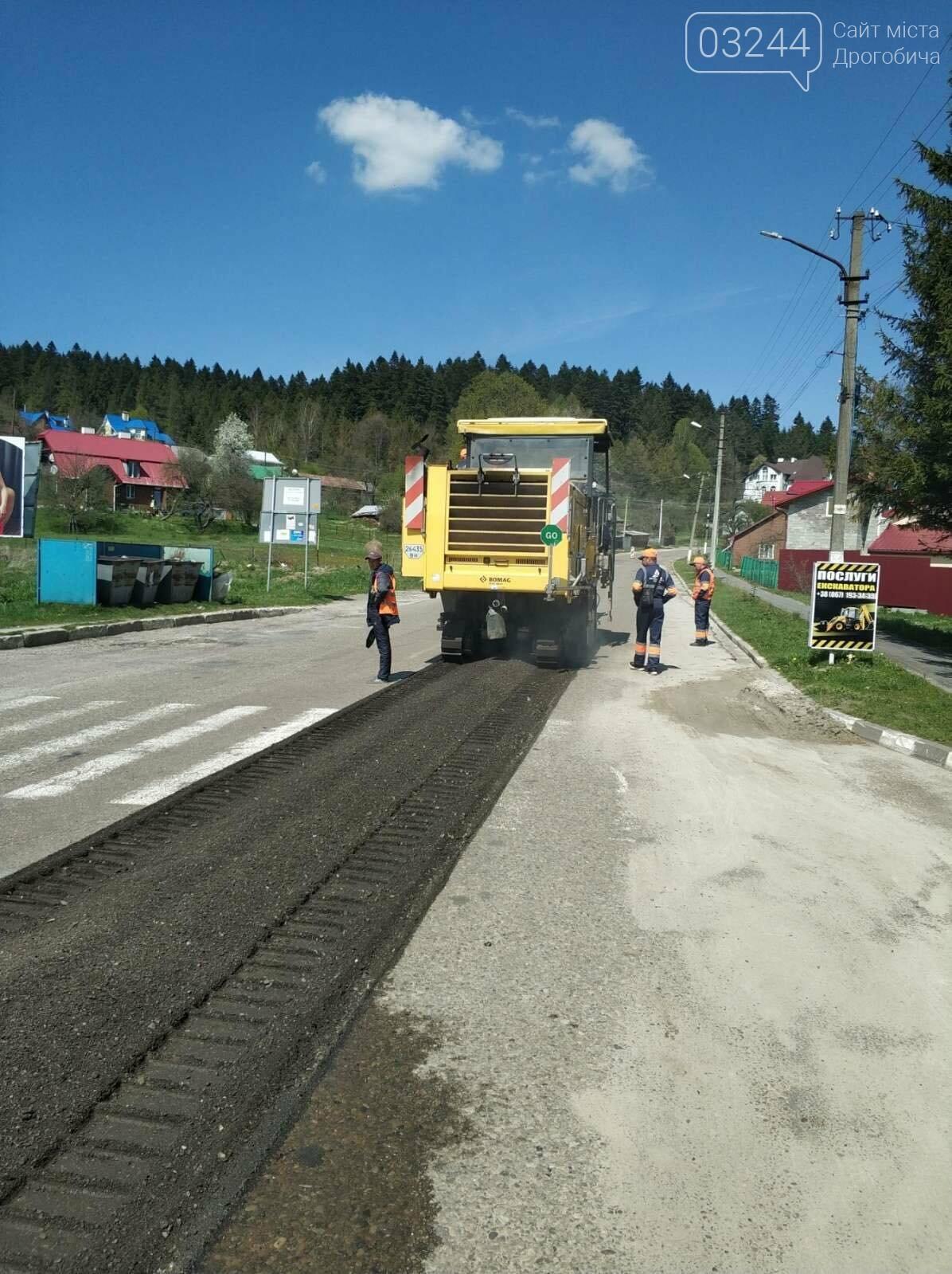 У рамках програми Велике будівництво ремонтують дорогу з Східниці у Борислав, фото-5
