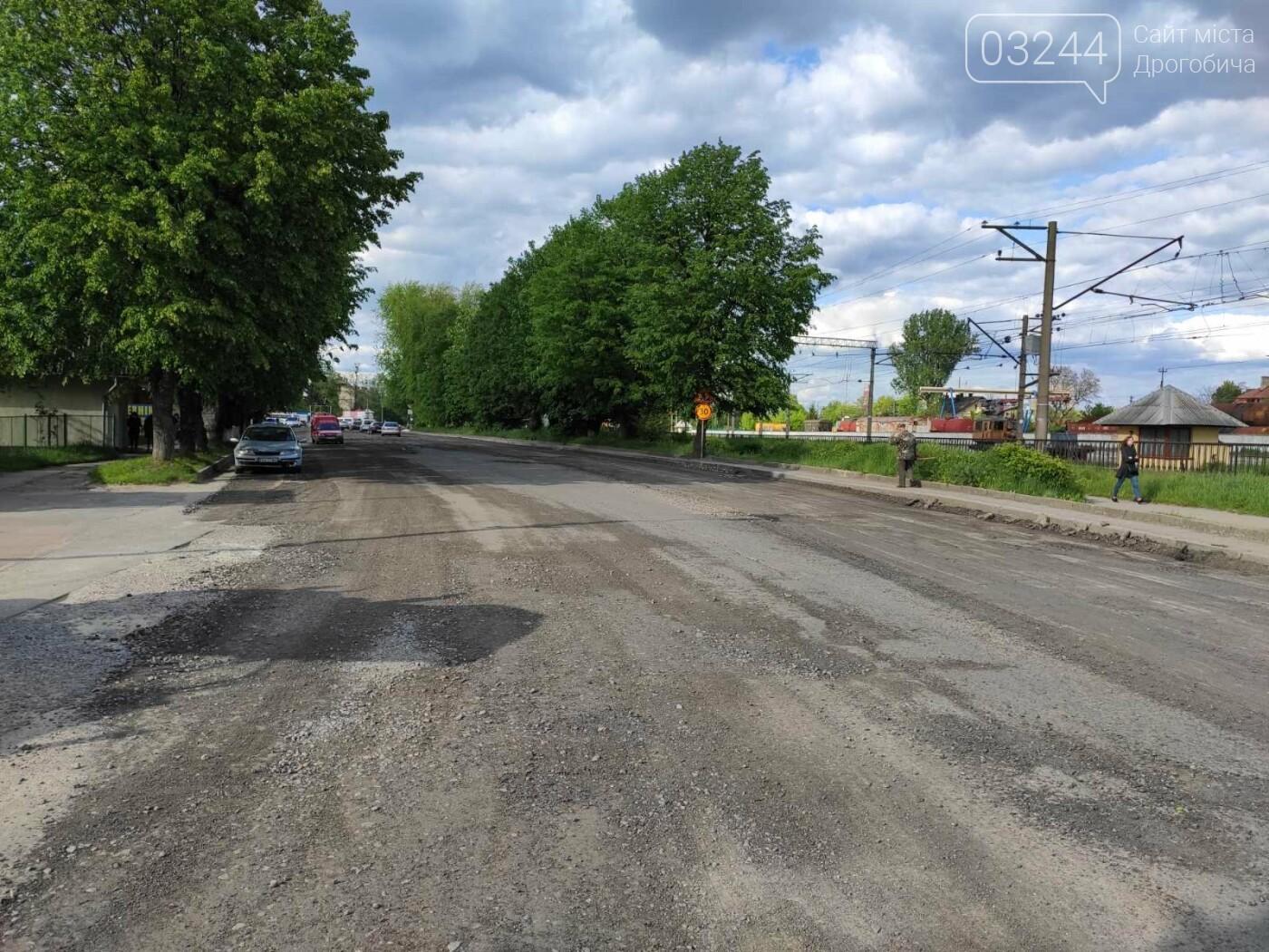 У Дрогобичі розпочали ремонтні роботи на вулиці Вокзальній, - ФОТО, фото-5