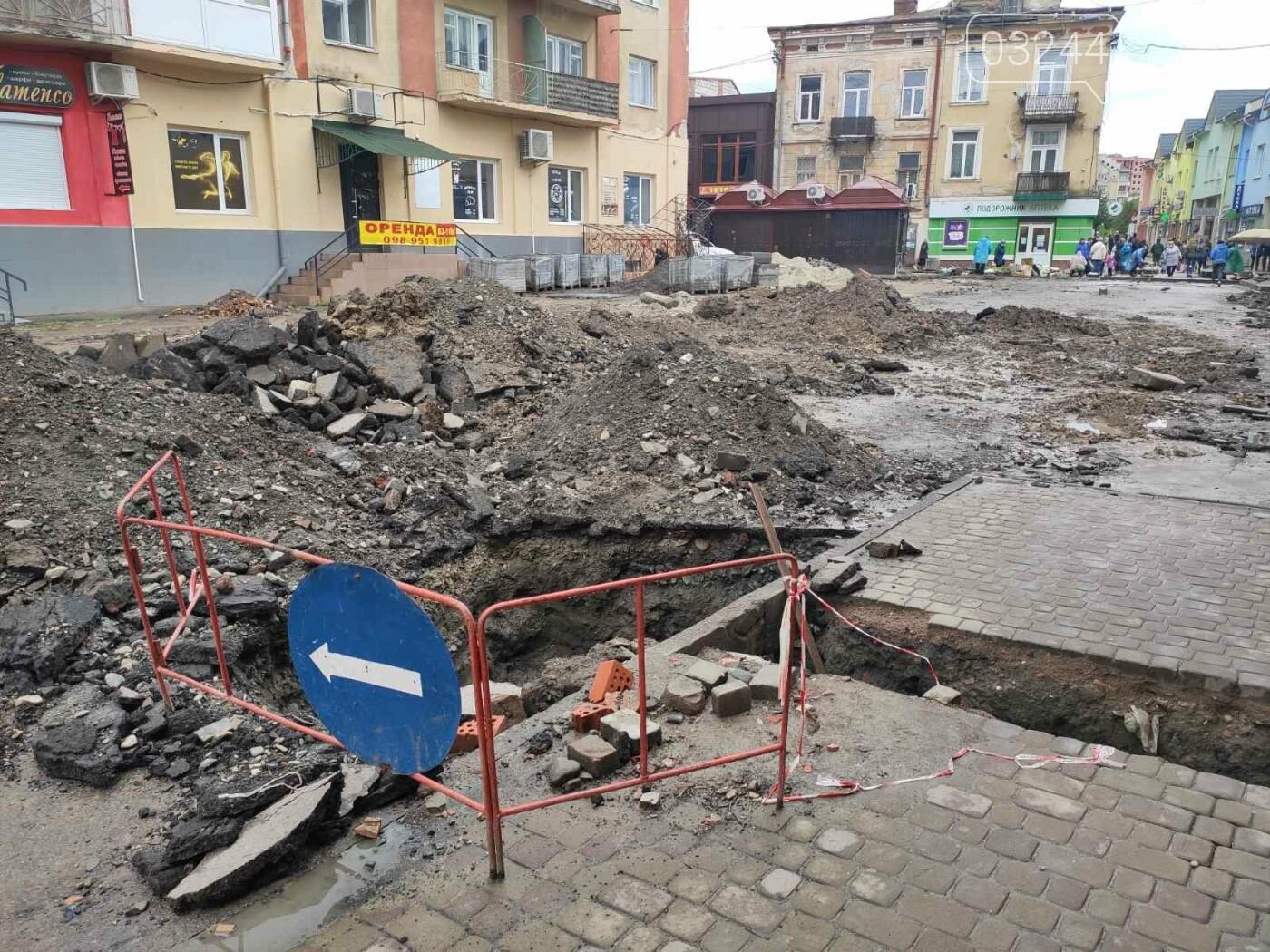 На вулиці Шолом-Алейхема провели ремонт водних комунікацій та труб газопостачання, - ФОТО, фото-5