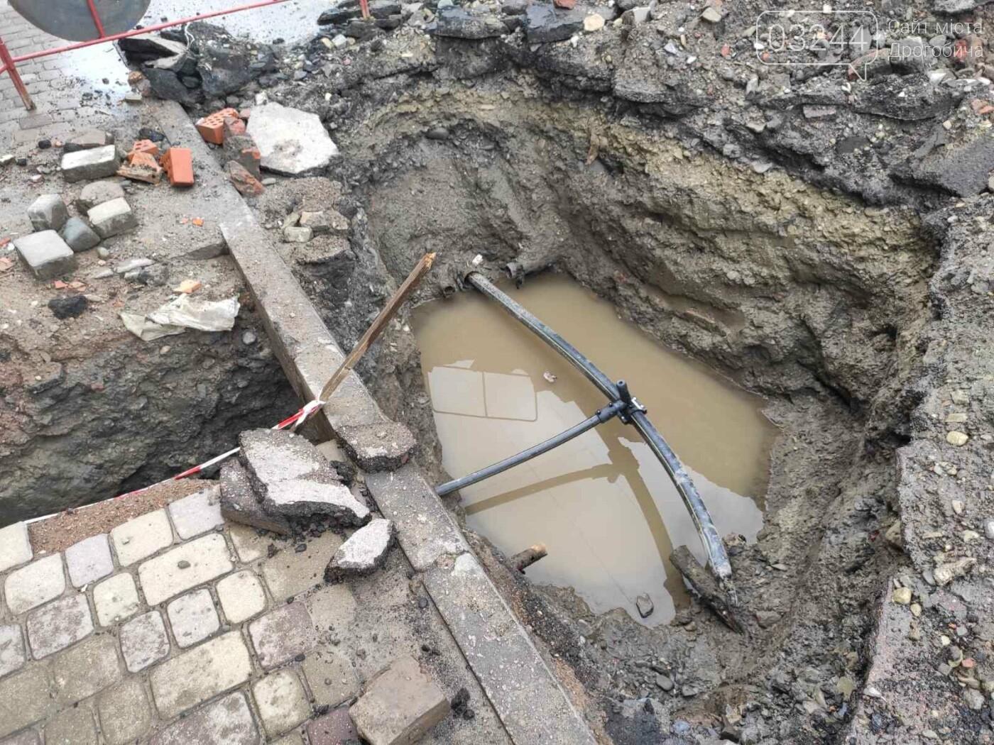 На вулиці Шолом-Алейхема провели ремонт водних комунікацій та труб газопостачання, - ФОТО, фото-4
