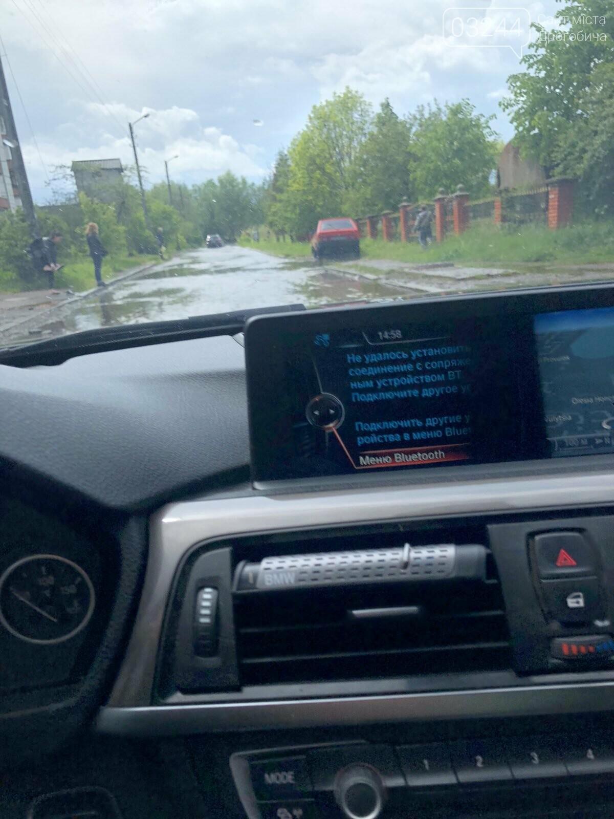 У Дрогобичі після проливних дощів затопило вулиці міста, - ФОТО, фото-3