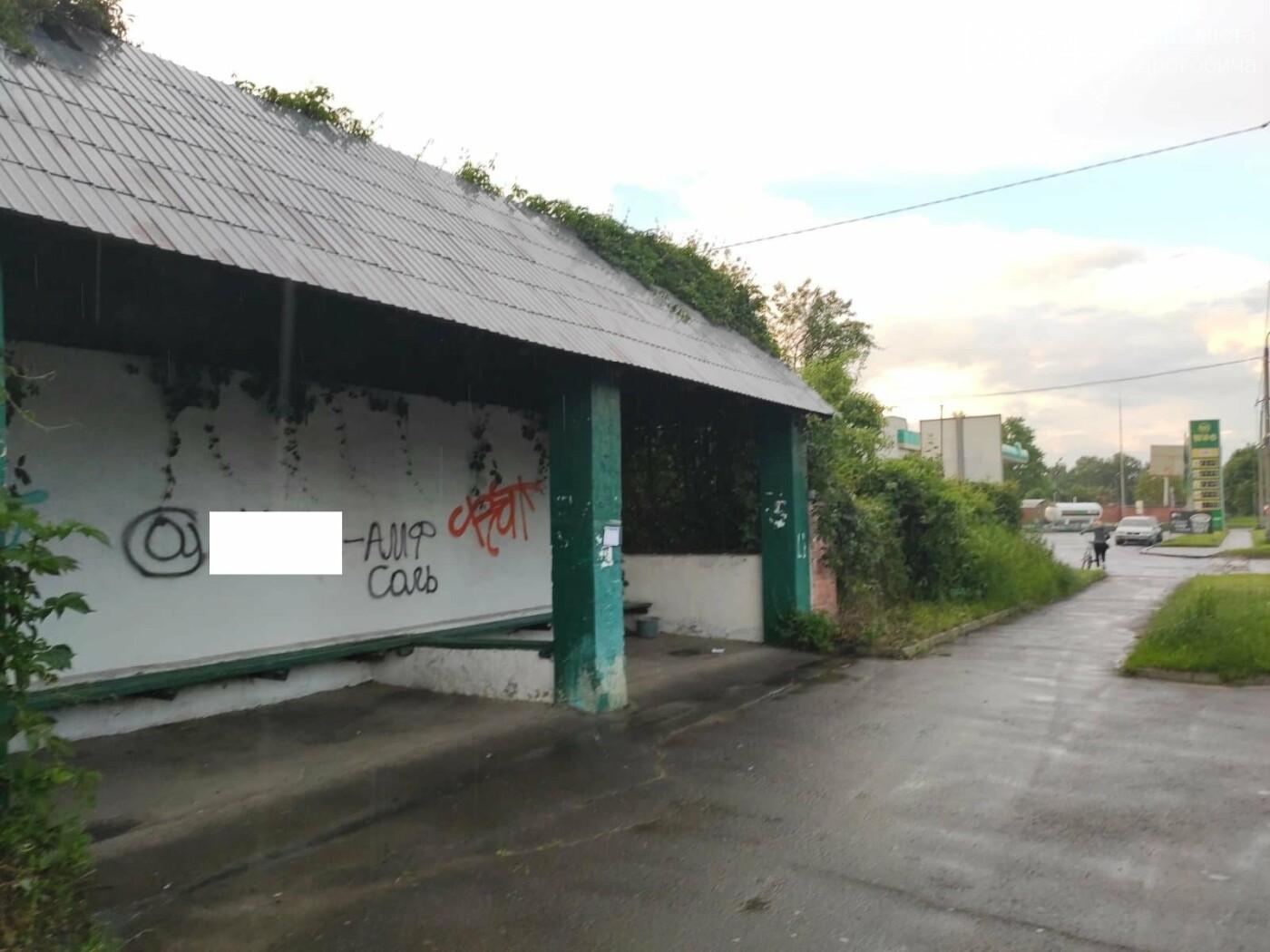 Дрогобич полонили небезпечні графіті: за електронними адресами пропонують придбати дурман-зілля, фото-1