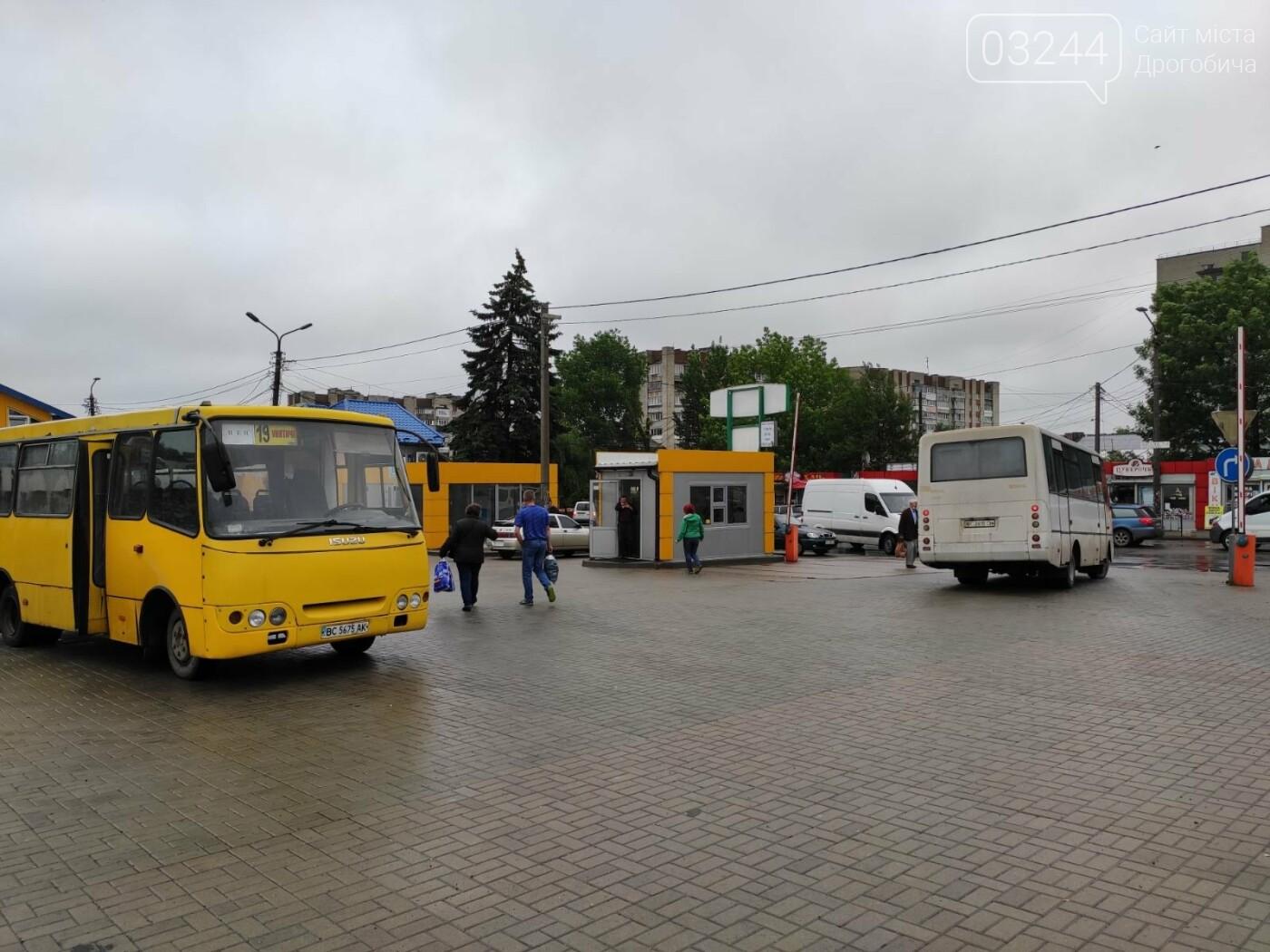 Офіційно - роботу громадського транспорту у Дрогобичі відновлено та запрацює автостанція, фото-1