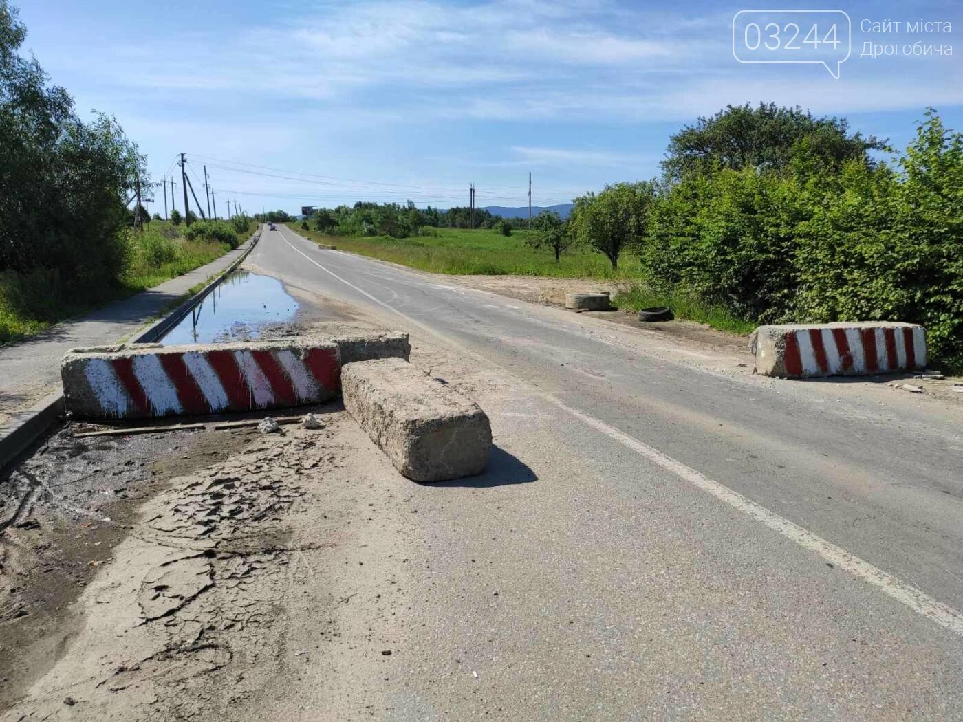 Дорогу на Трускавець вчергове відкрили: вночі відсунули бетонні блоки, - ФОТО, фото-8