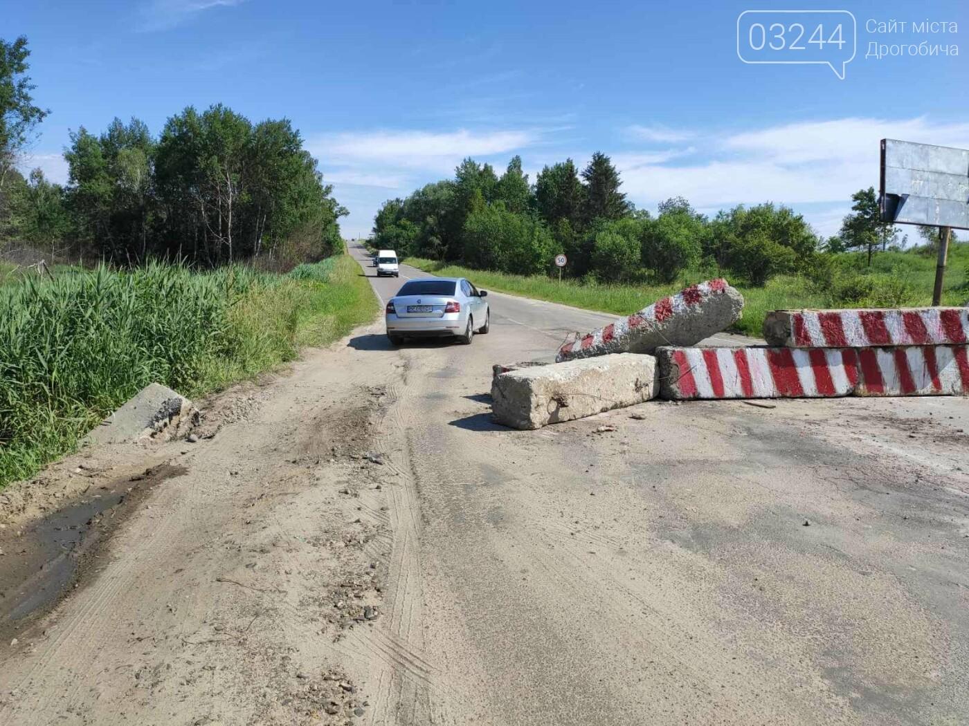 Дорогу на Трускавець вчергове відкрили: вночі відсунули бетонні блоки, - ФОТО, фото-4