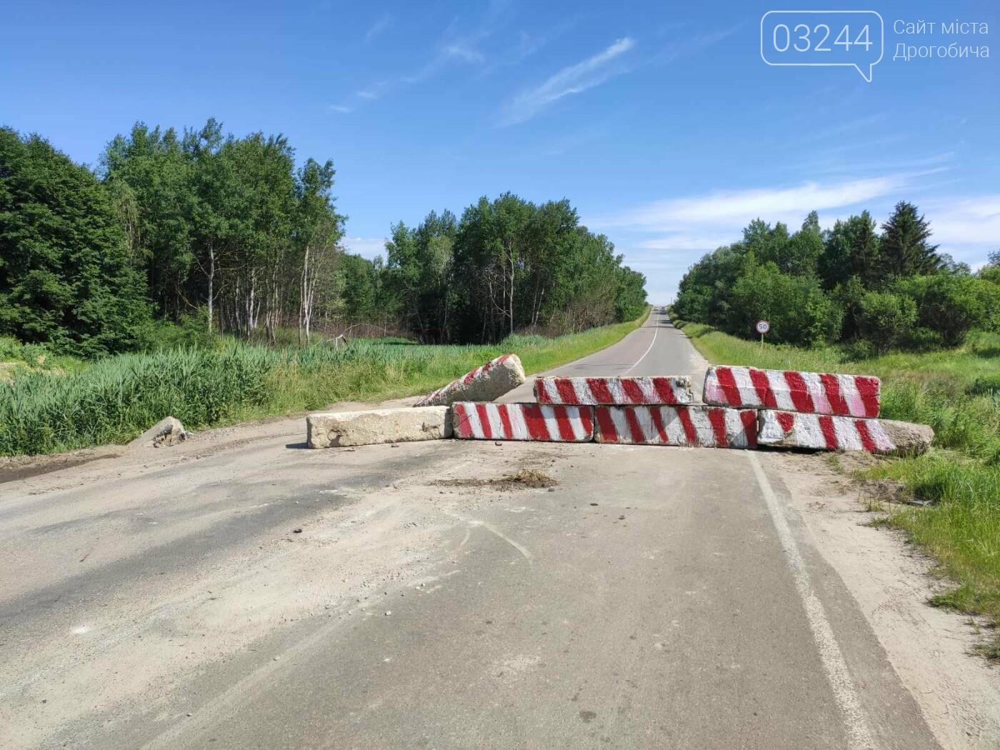 Дорогу на Трускавець вчергове відкрили: вночі відсунули бетонні блоки, - ФОТО, фото-1