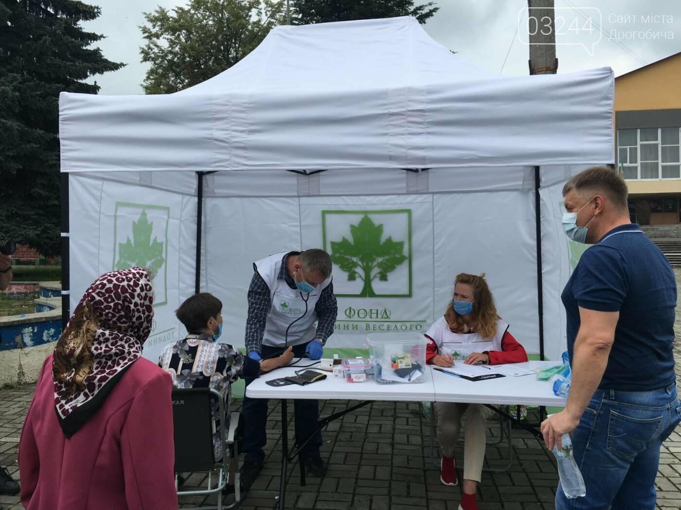 «Здорова громада» Дрогобиччини: вже понад двісті стебничан безкоштовно перевірили стан здоров'я, фото-1