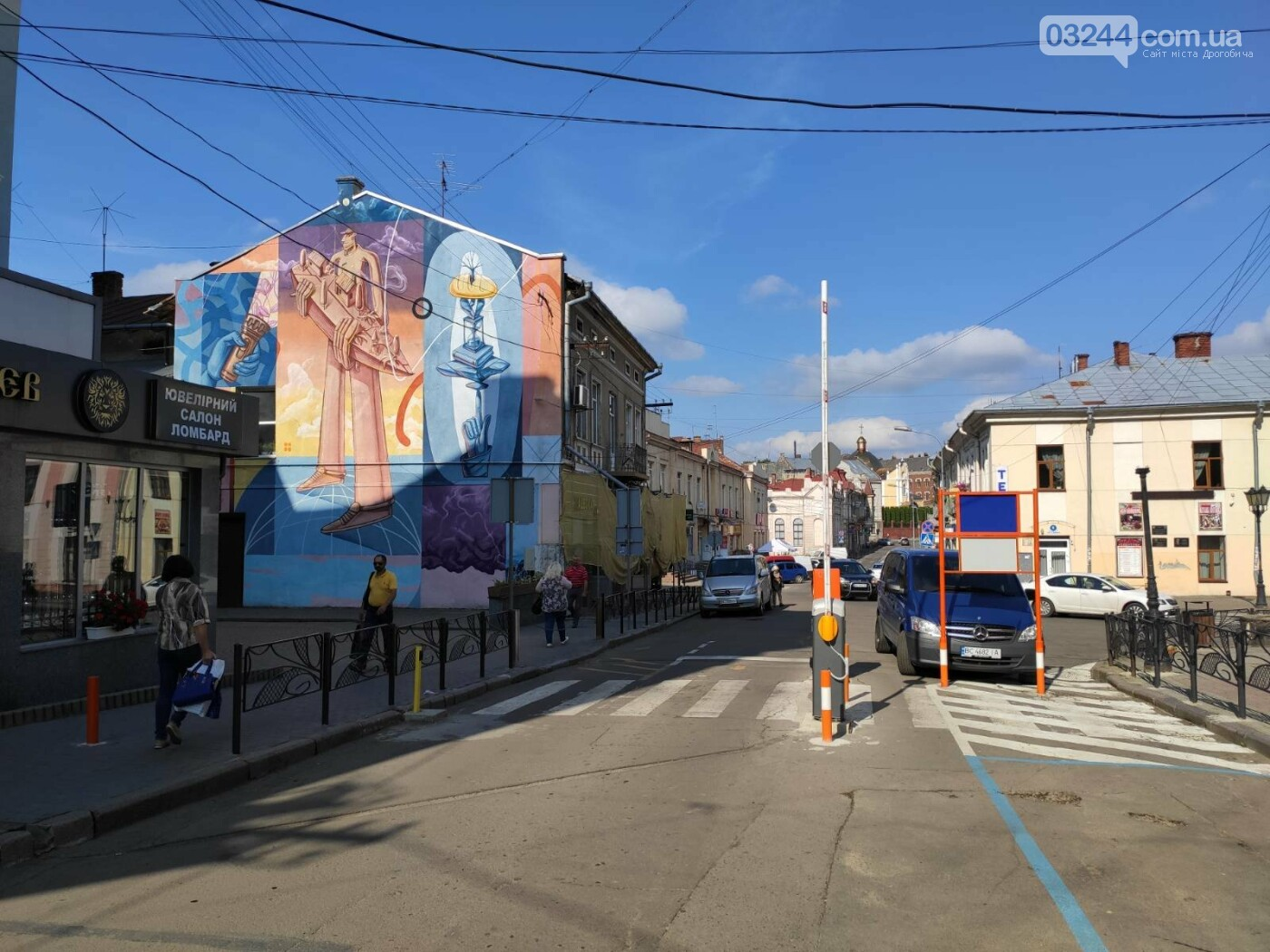 Фото дня. У Дрогобичі, на вулиці Мазепи, знову не працює шлагбаум паркувальної системи, фото-2