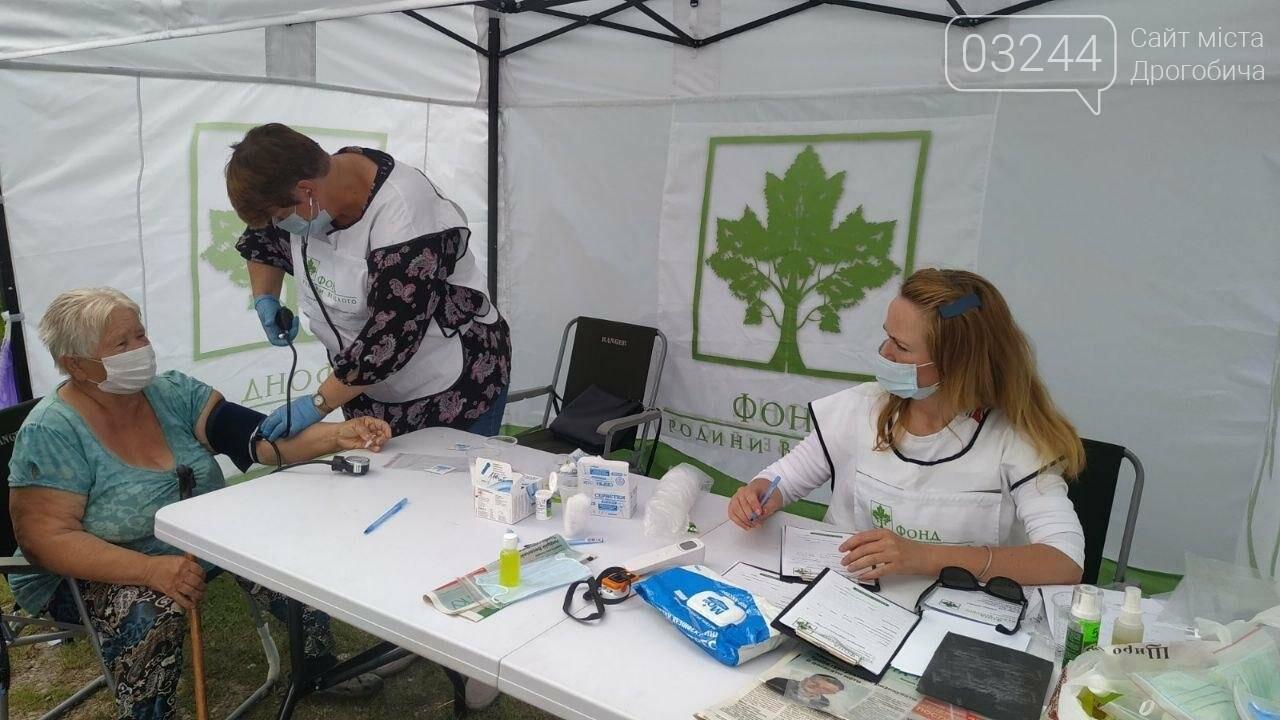 «Здорова громада»:  на Дрогобиччині 2,5 тисячі людей безоплатно перевірили стан здоров'я, фото-1