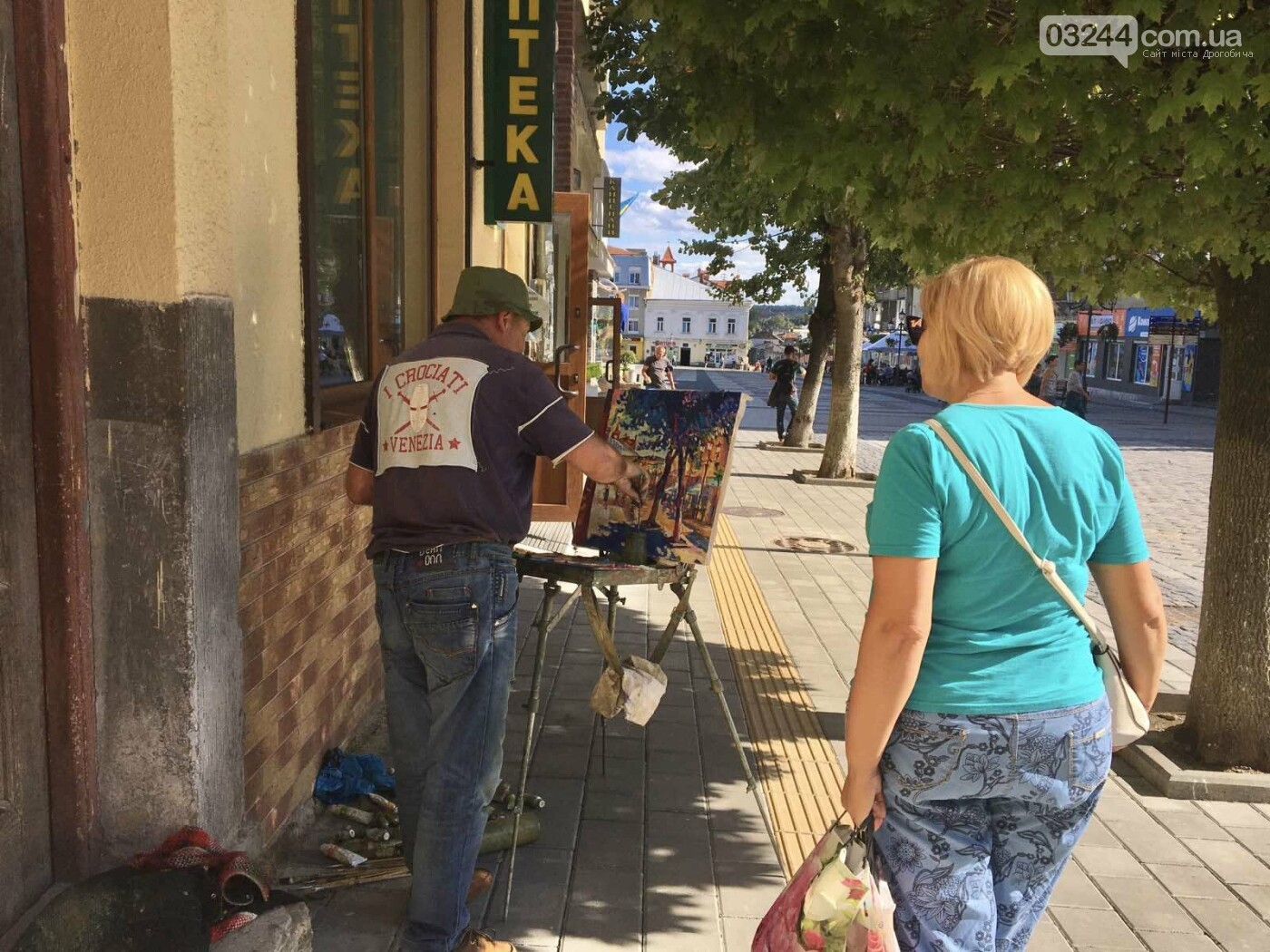 Дрогобич на полотнах митців – у місті завершився художній пленер «Розмаїття культур», фото-1