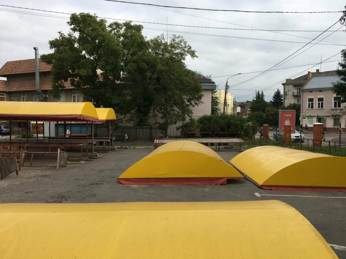 Ні - стихійній торгівлі! У Дрогобичі облаштують новий ринок, куди хочуть перенести торгівлю з під «Прометею», фото-3