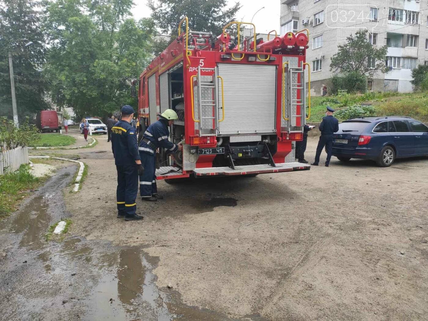 У багатоповерховому будинку на вулиці Стрийській пів дня не було  електроенергії через пожежу у підвалі, - ФОТО, фото-3