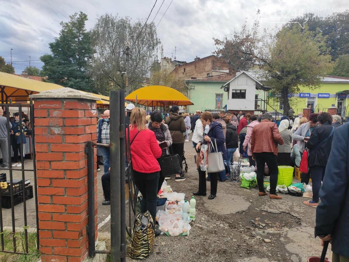 У Дрогобичі зрушення - стихійні торговці із Ковальської перейшли на новооблаштований ринок, - ФОТОРЕПОРТАЖ, фото-15