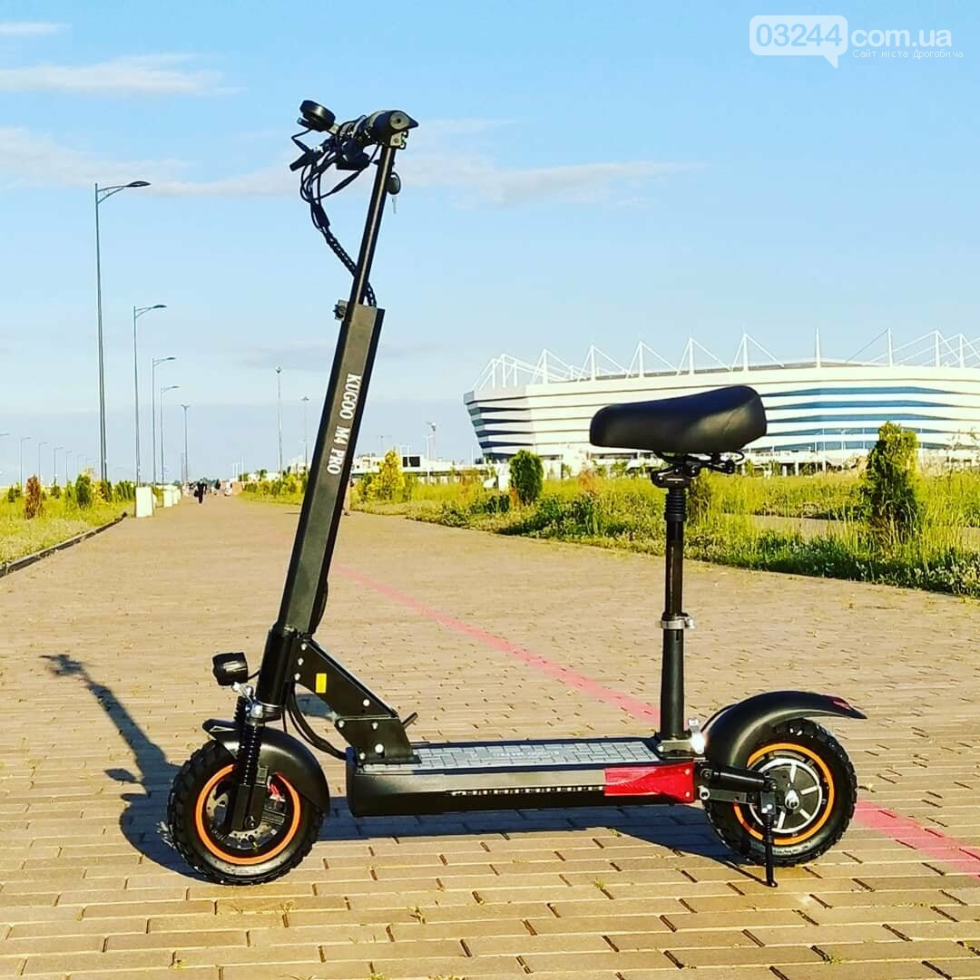 Електросамокат Kugoo M4 Pro 2020 - позашляховик для їзди містом, фото-2