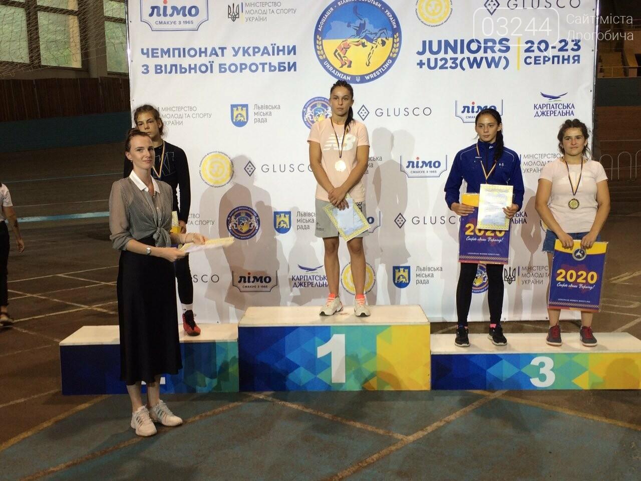 Дрогобичанці Олександрі Хоменець присвоєно звання «Майстер Спорту України» з вільної боротьби, фото-1