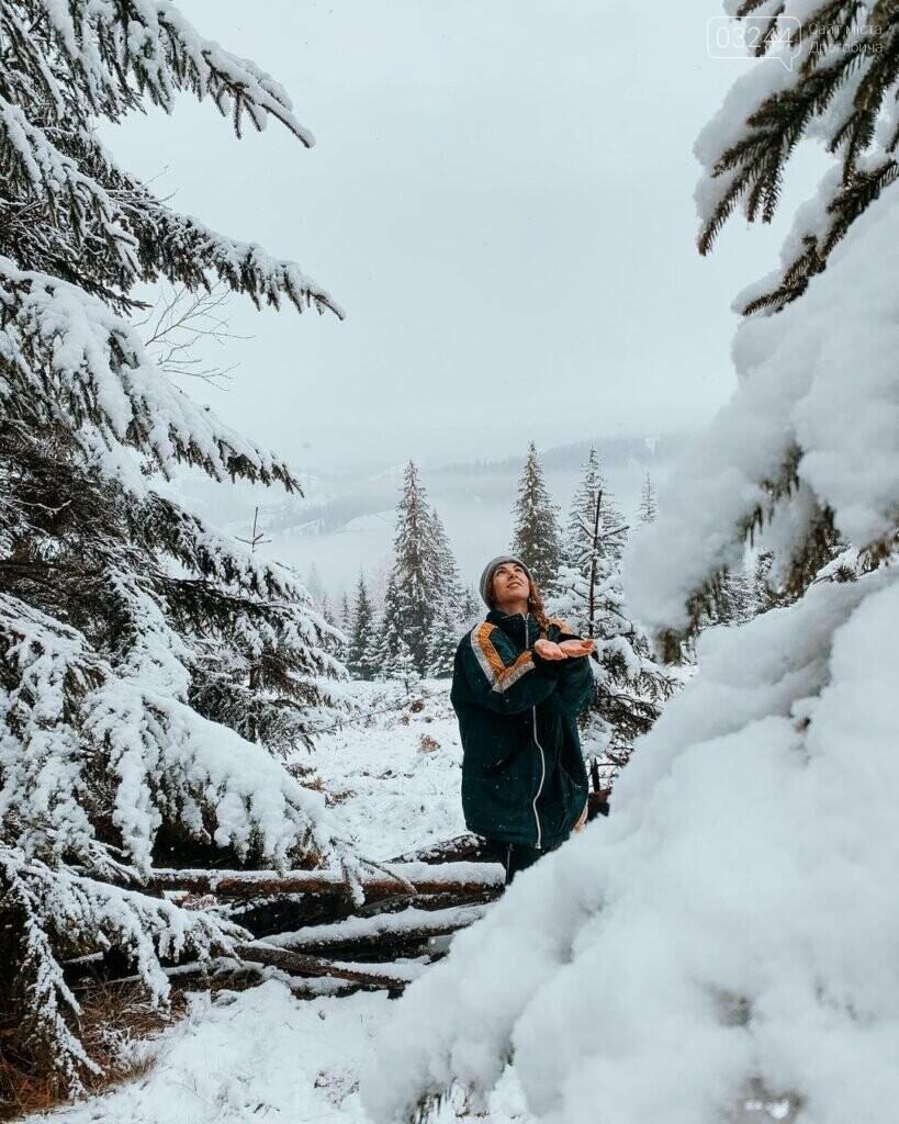 Західну Україну вкриває снігом, - ФОТО, фото-1