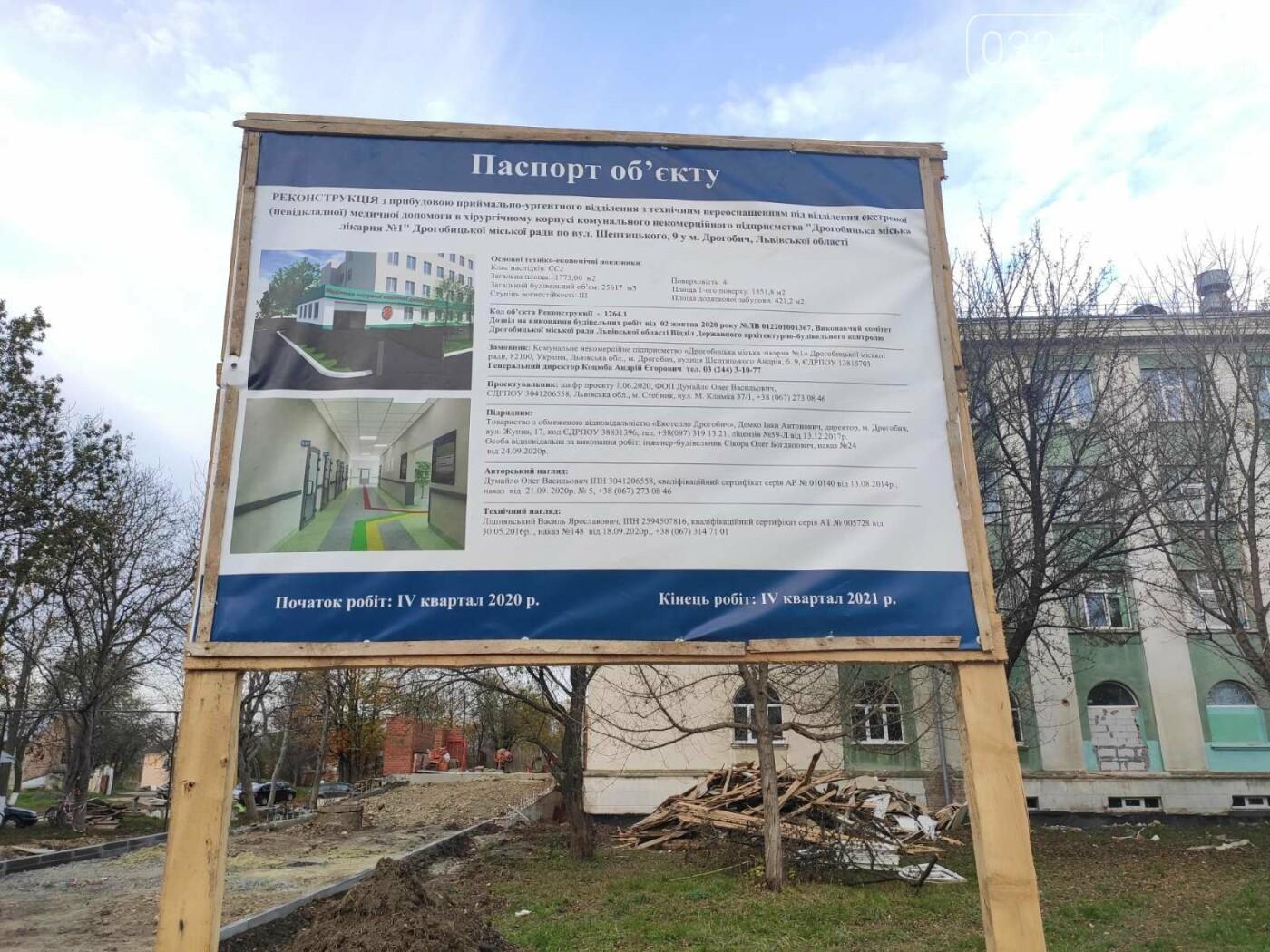 Дрогобицька міська лікарня №1 оновлює  приймальне відділення  – стартував капремонт приміщення  , фото-13