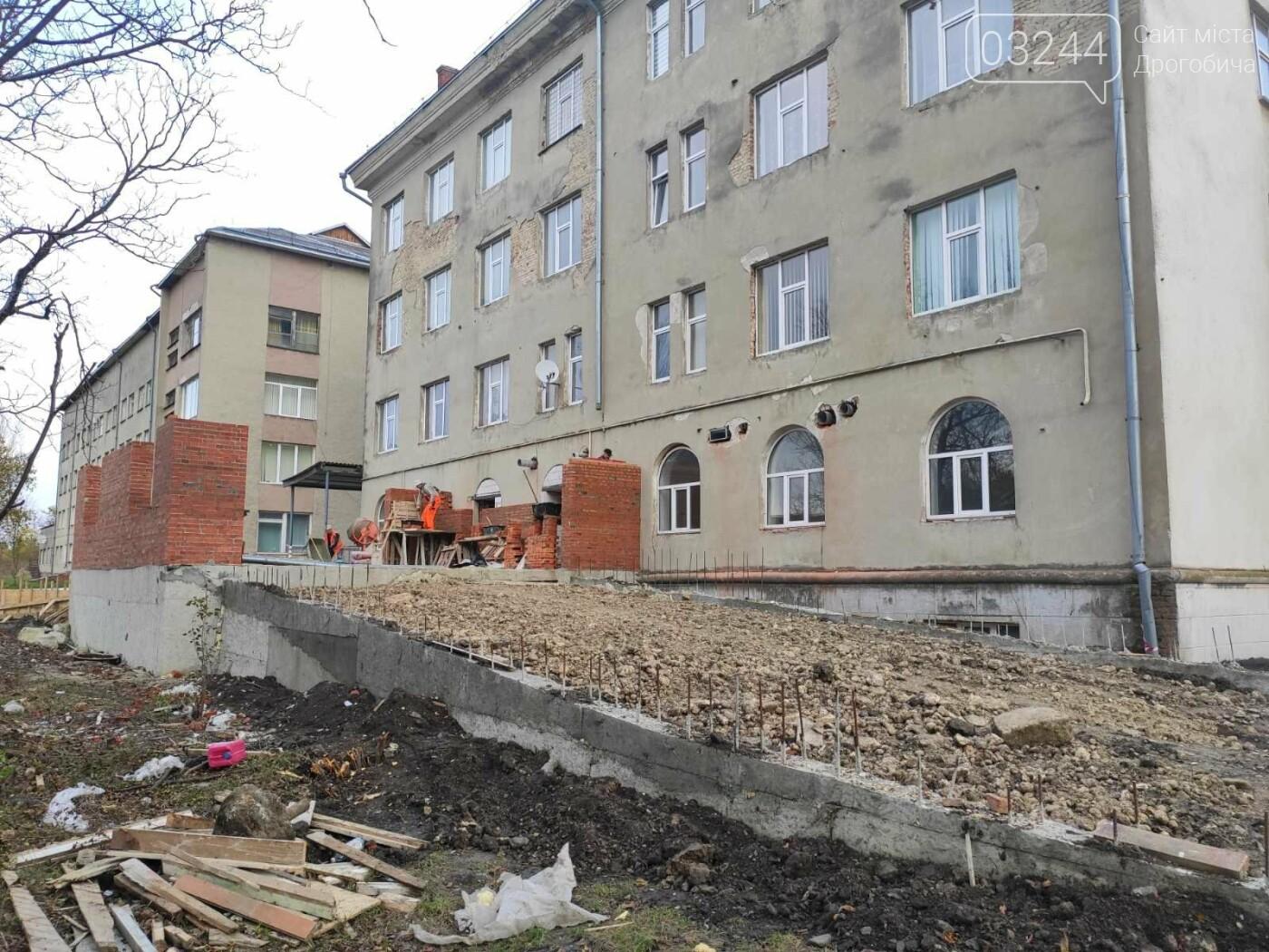 Дрогобицька міська лікарня №1 оновлює  приймальне відділення  – стартував капремонт приміщення  , фото-10