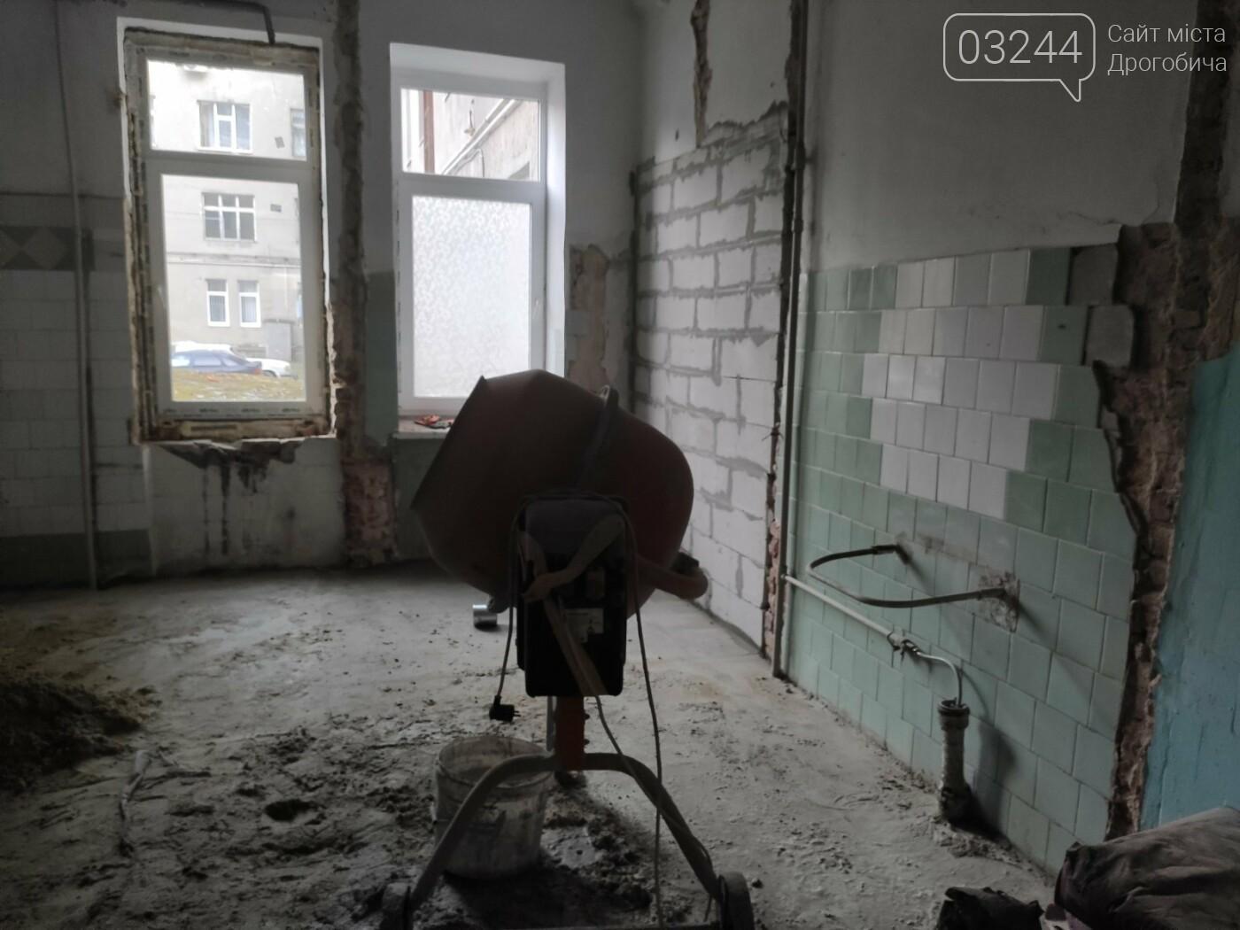 Дрогобицька міська лікарня №1 оновлює  приймальне відділення  – стартував капремонт приміщення  , фото-5