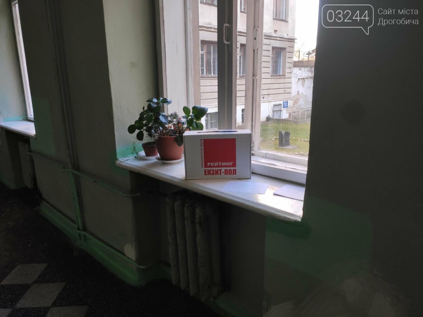 Соціологічна група «Рейтинг» вдруге у Дрогобичі проводить екзит-пол на виборах, - ФОТО, фото-2