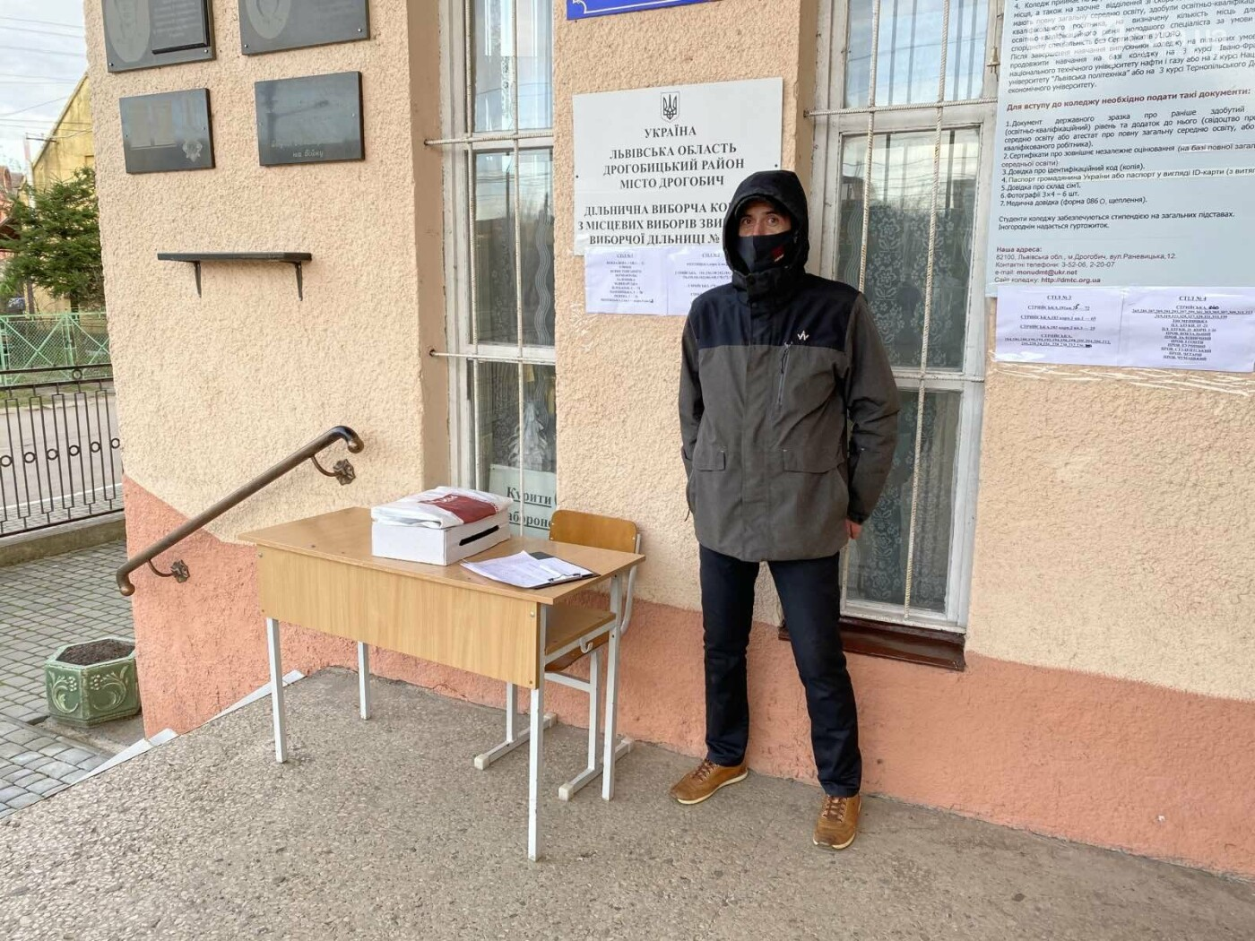 Соціологічна група «Рейтинг» вдруге у Дрогобичі проводить екзит-пол на виборах, - ФОТО, фото-6