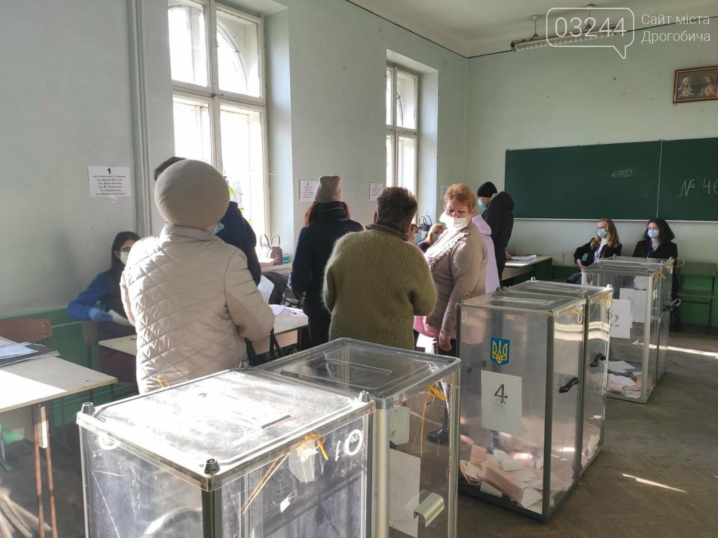 Соціологічна група «Рейтинг» вдруге у Дрогобичі проводить екзит-пол на виборах, - ФОТО, фото-12