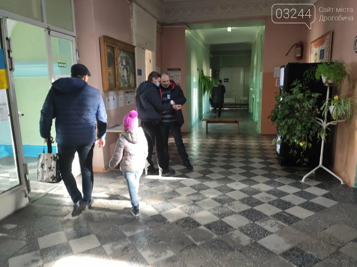 Соціологічна група «Рейтинг» вдруге у Дрогобичі проводить екзит-пол на виборах, - ФОТО, фото-9