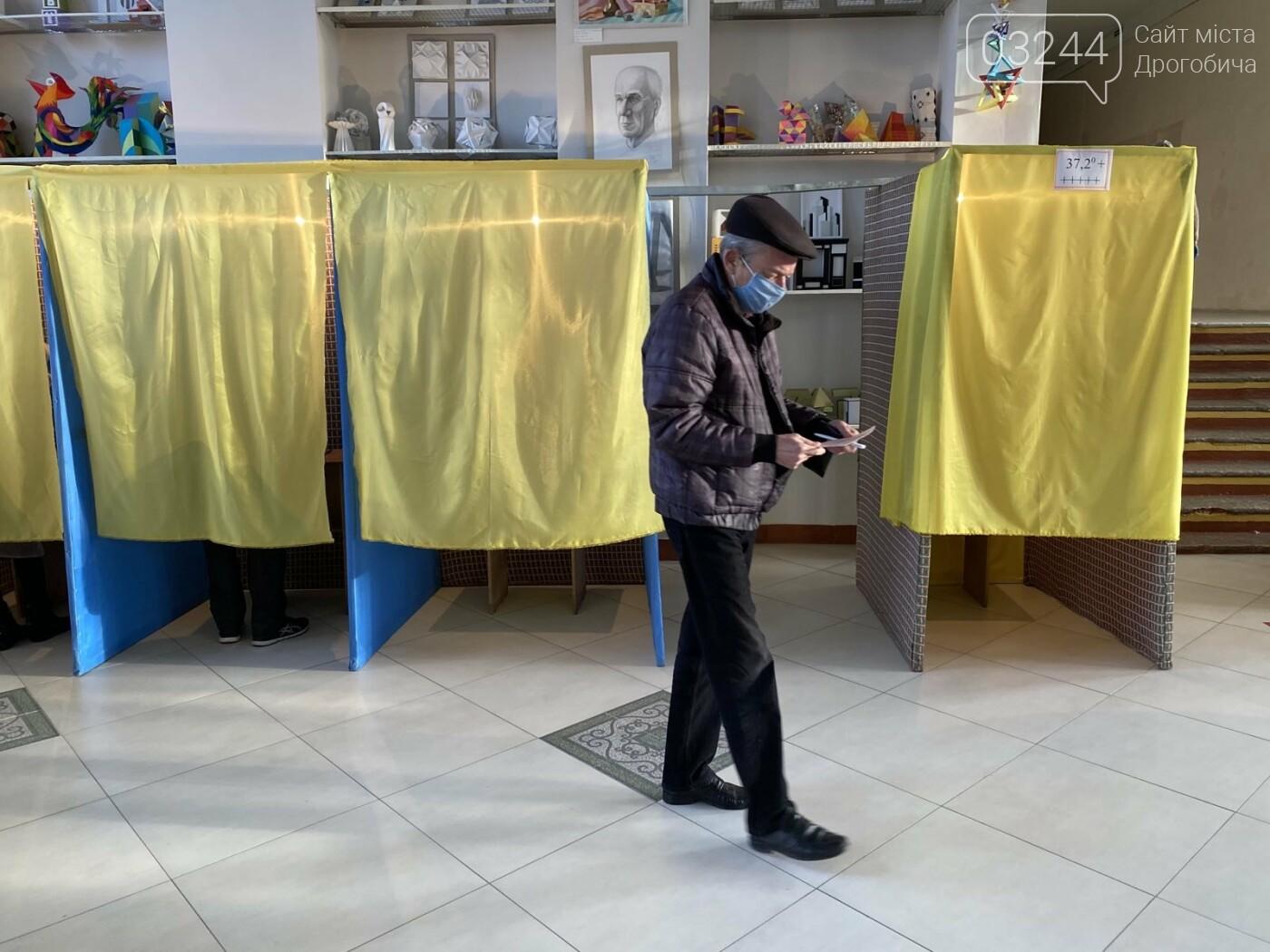 Соціологічна група «Рейтинг» вдруге у Дрогобичі проводить екзит-пол на виборах, - ФОТО, фото-39