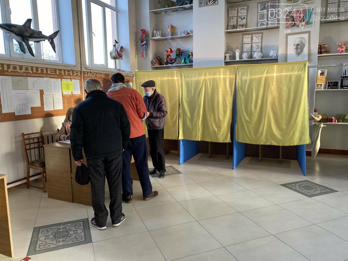 Соціологічна група «Рейтинг» вдруге у Дрогобичі проводить екзит-пол на виборах, - ФОТО, фото-43