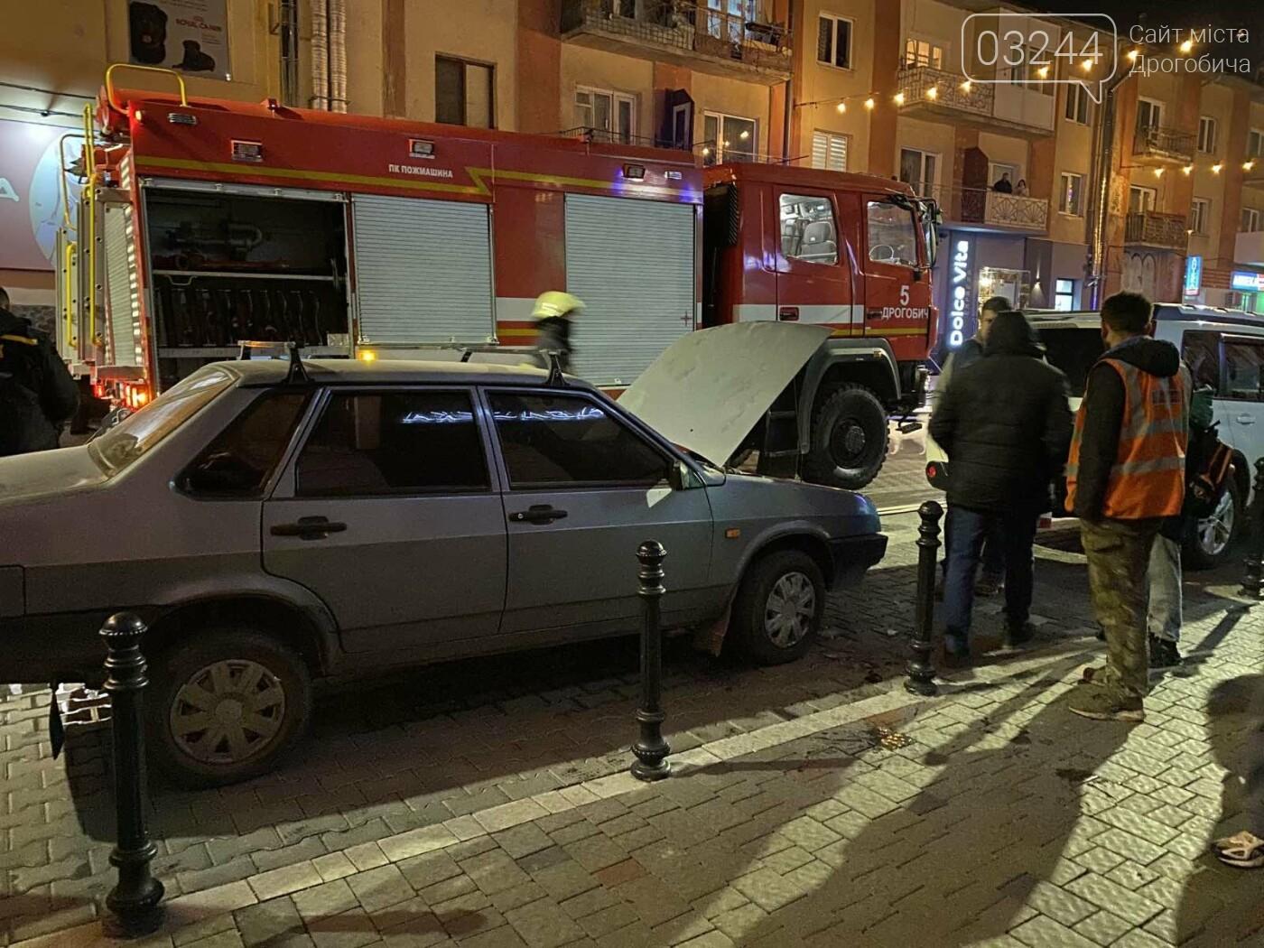 На вулиці Шолом-Алейхема загорівся автомобіль, - ФОТО, фото-2
