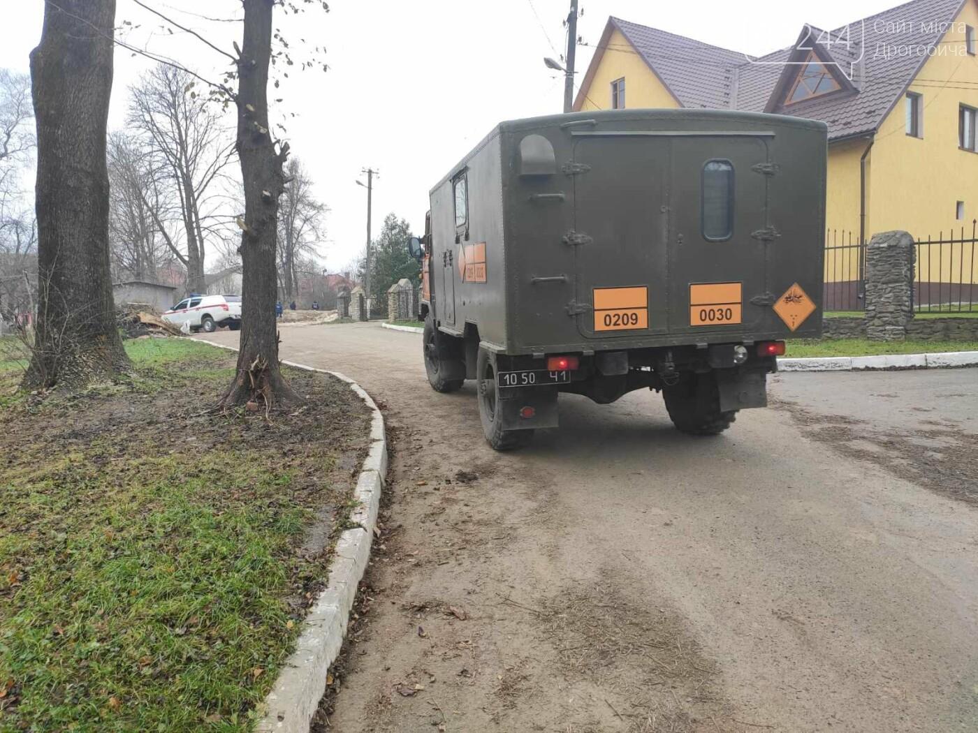 У Дрогобичі на вулиці Стрийській знайшли гранату, - ФОТО, фото-3
